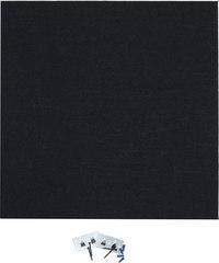 "AS AlphaSorb'  Panel  GOM 408 Black 2' x 2' x 1"""