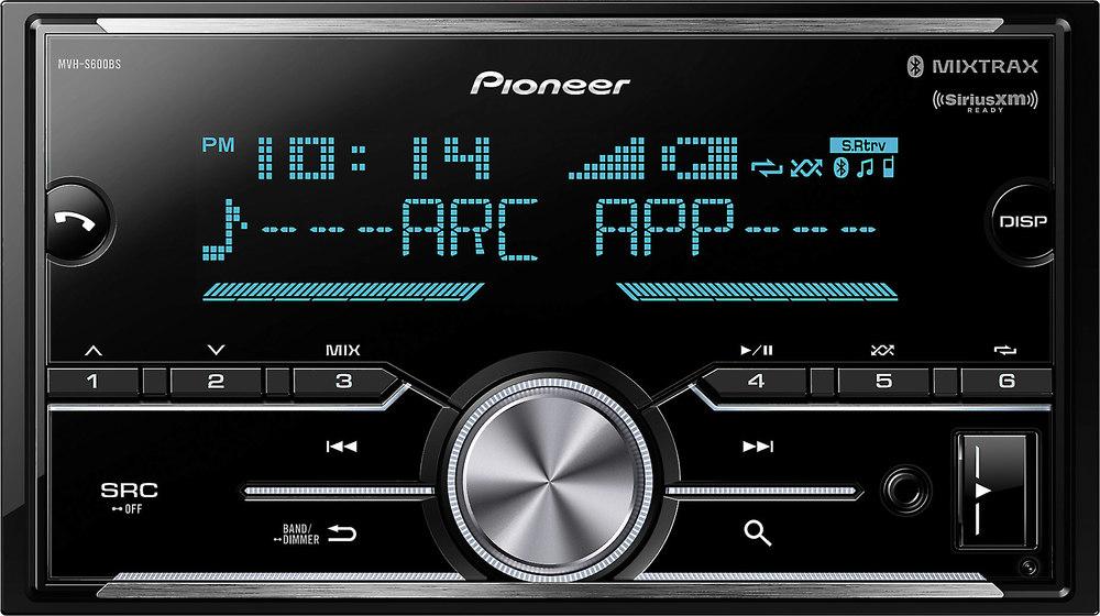 pioneer mvh s600bs digital media receiver does not play cds at rh crutchfield com