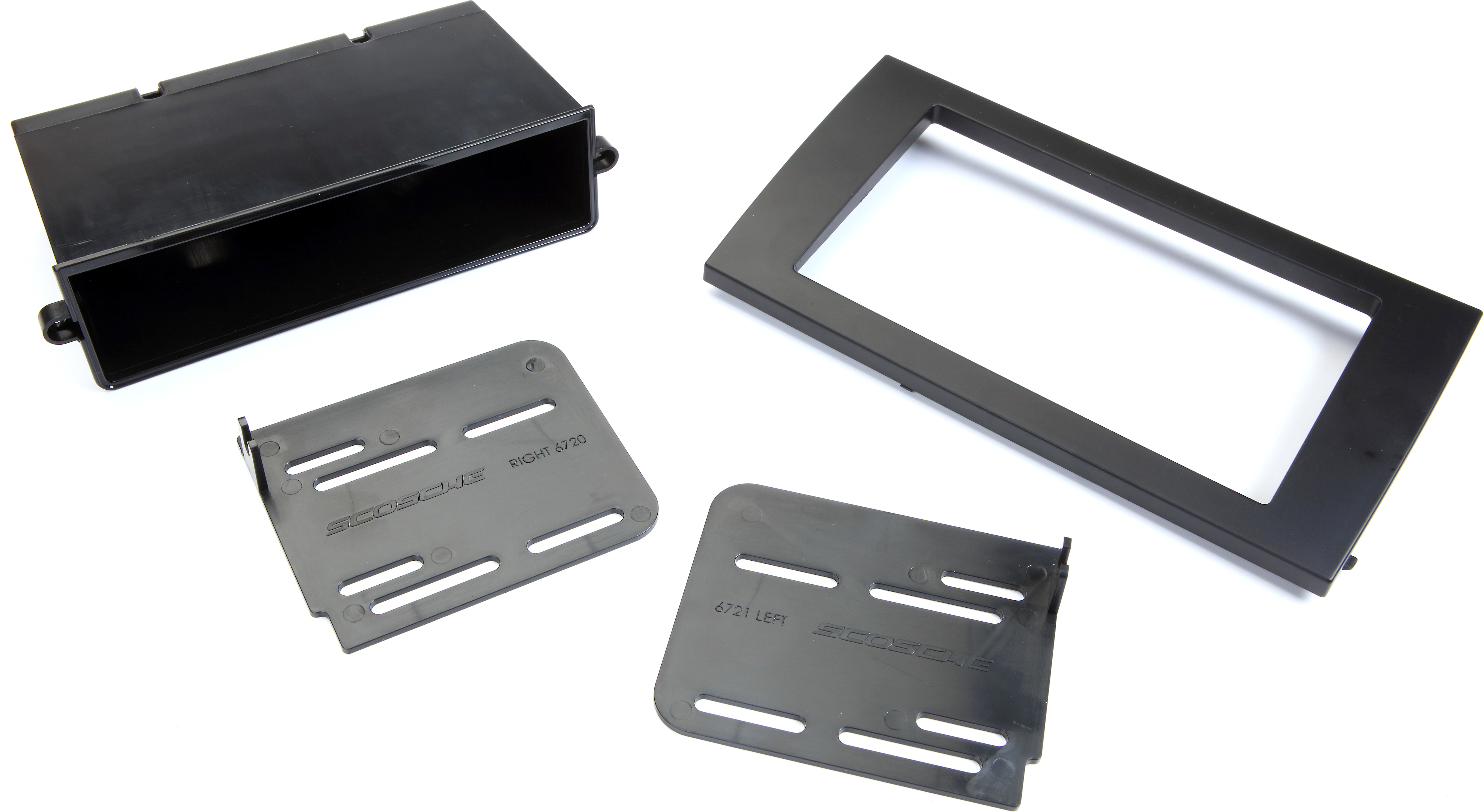 Scosche Dash Kit for 2002-Up Audi A4 Double Din and Din with Pocket