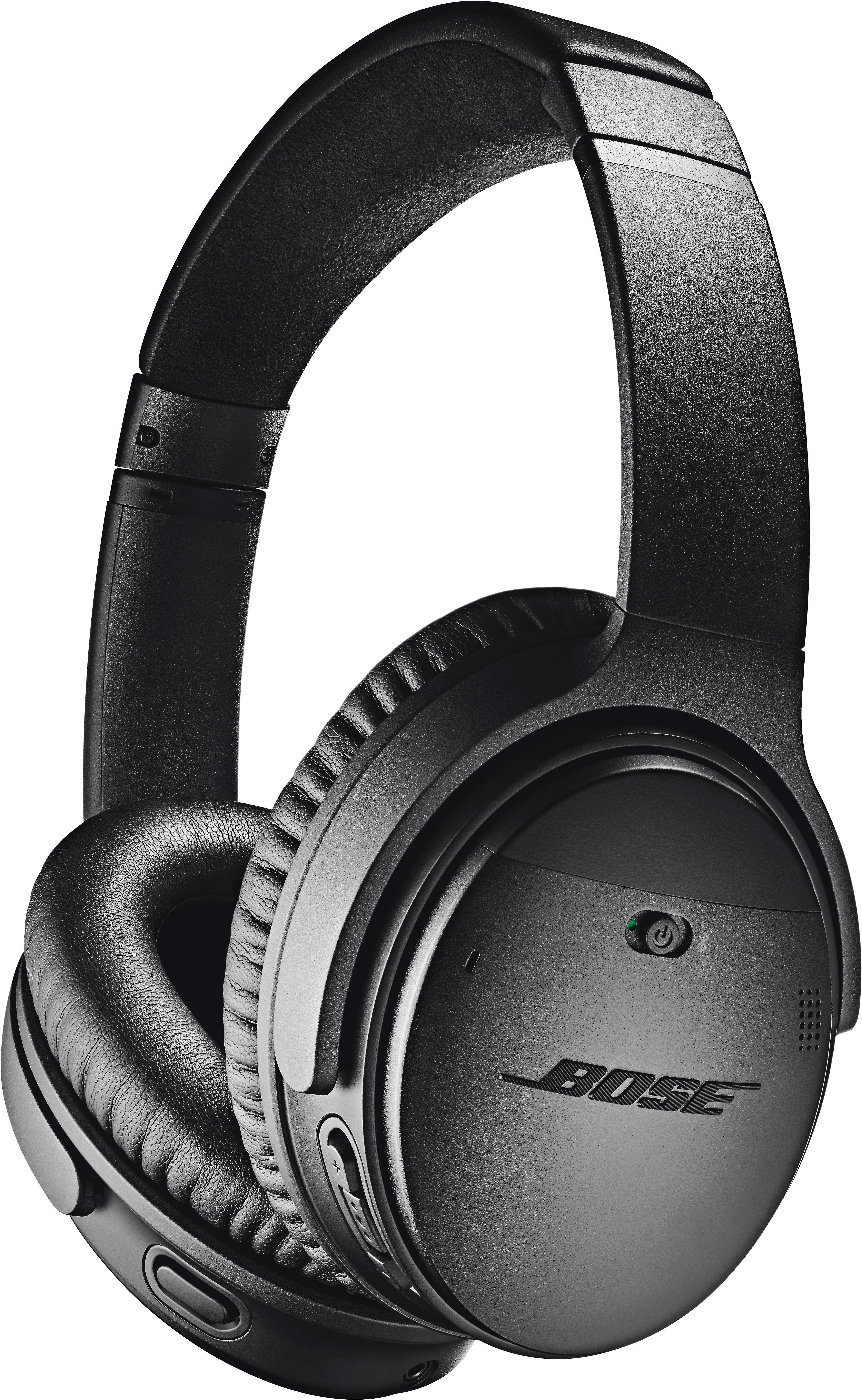 Bose® QuietComfort® 35 wireless headphones II (Black)