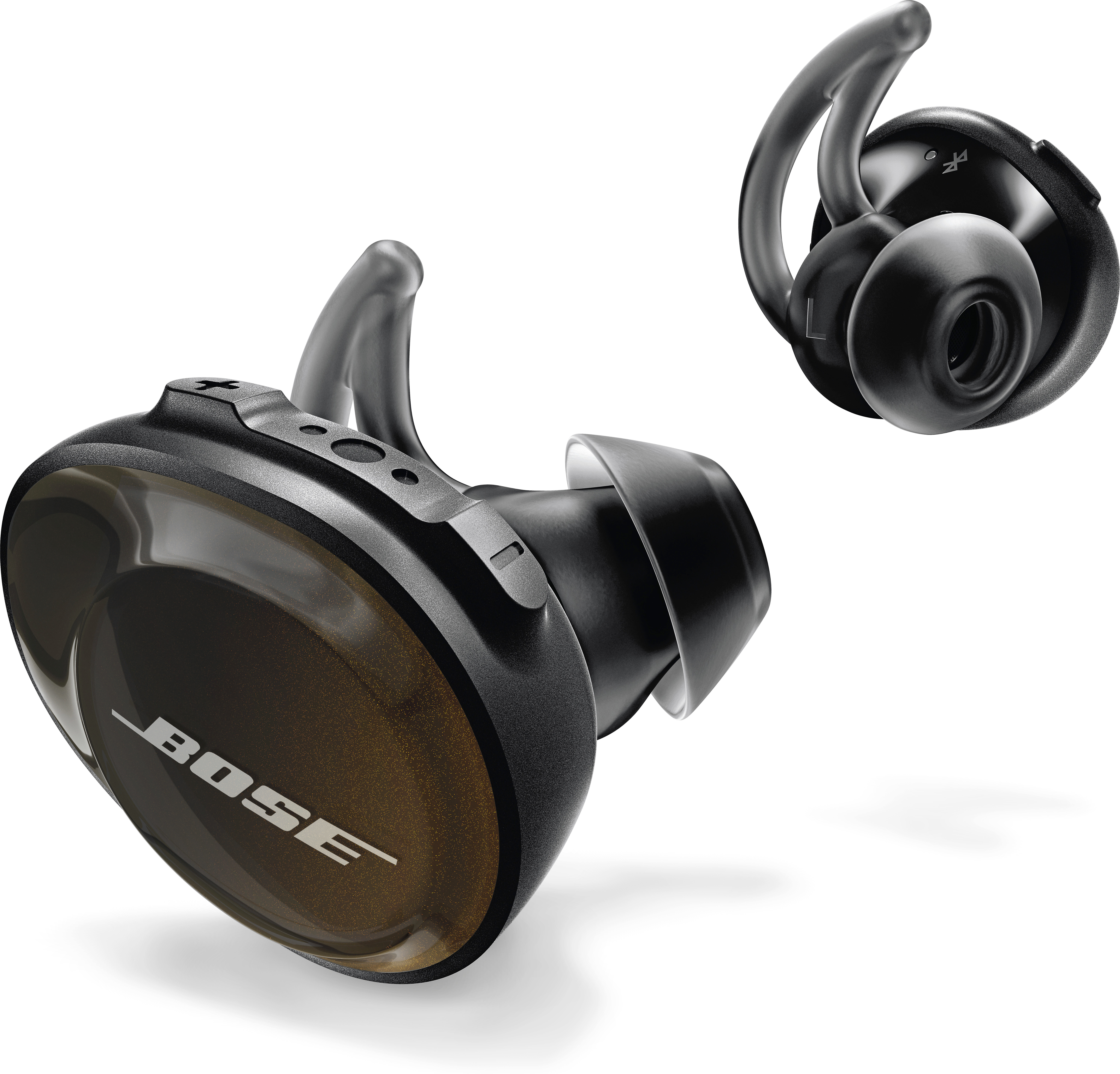 Bose Soundsport Free Wireless Headphones Triple Black At Crutchfield