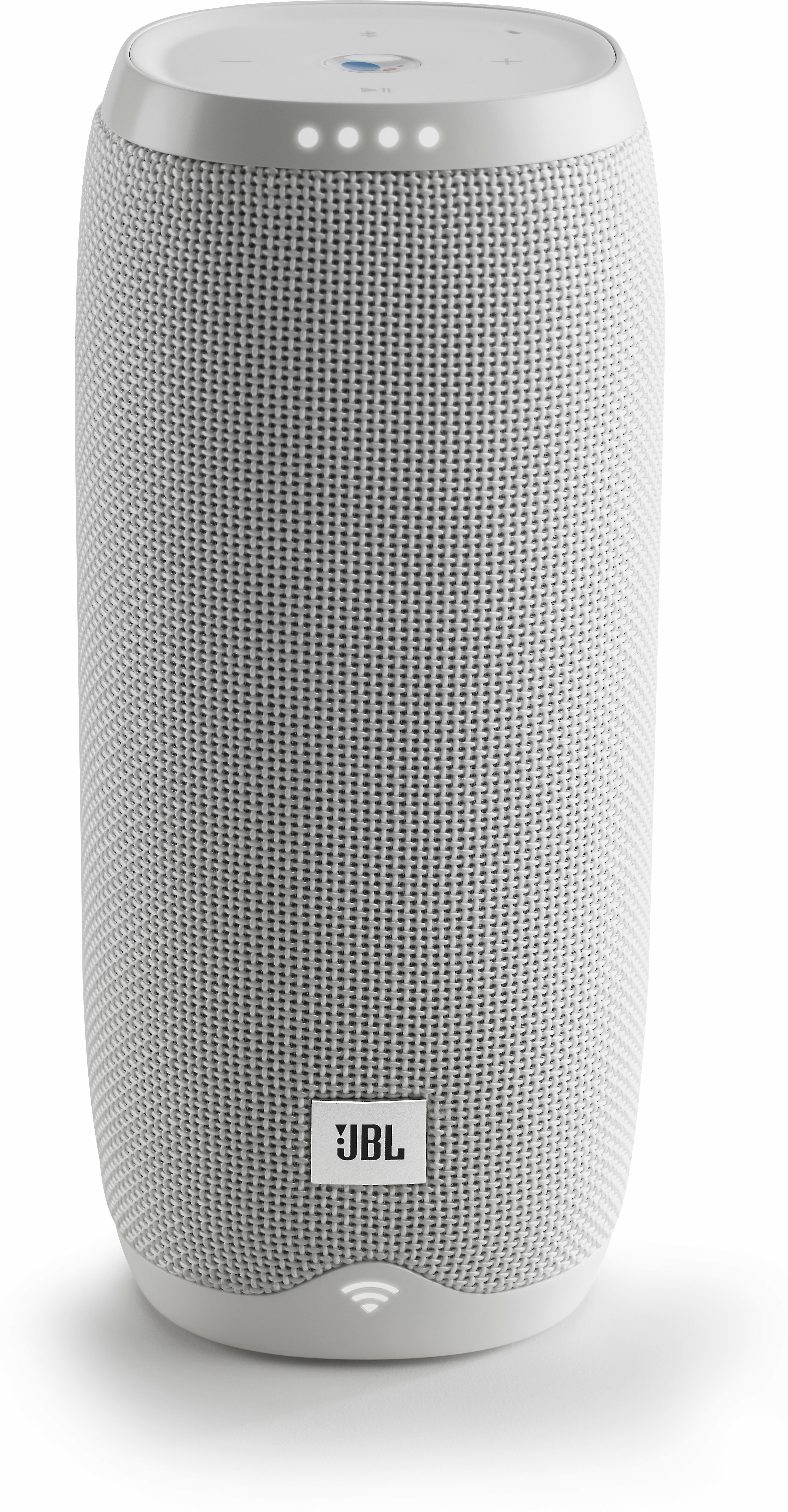 JBL LINK 20 Smart Portable Bluetooth Speaker Google Assistant Black White