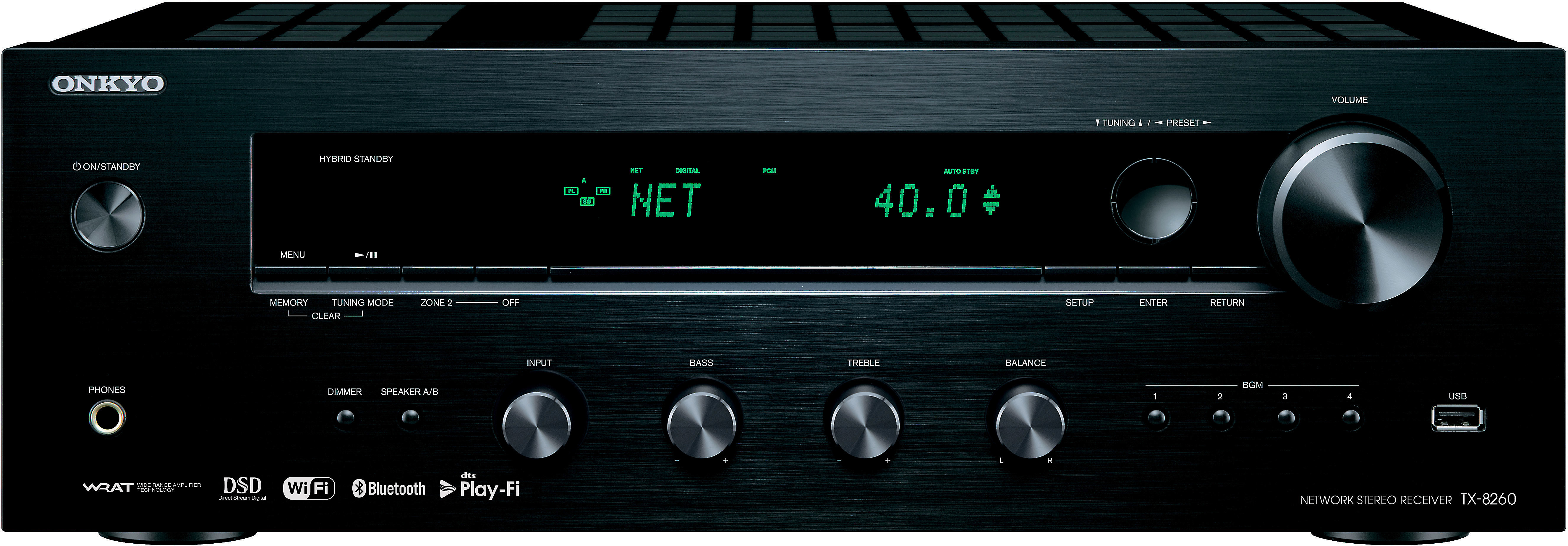 Onkyo Tx 8260 Stereo Receiver With Wi Fi Bluetooth And Chromecast Built In At Crutchfield