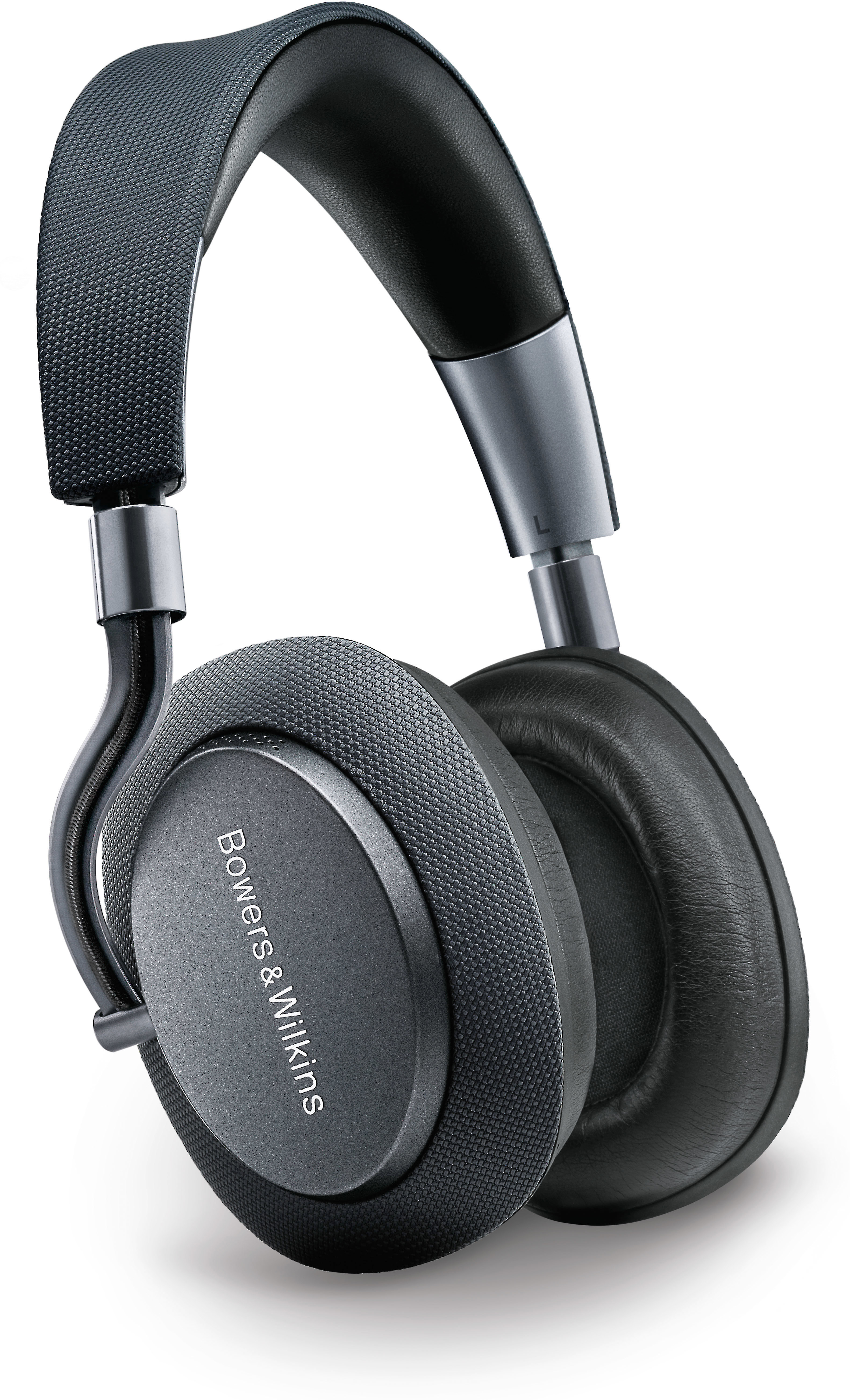 3bec7a853854cc Bowers & Wilkins PX Wireless (Space Grey) Over-ear noise-canceling Bluetooth®  headphones at Crutchfield