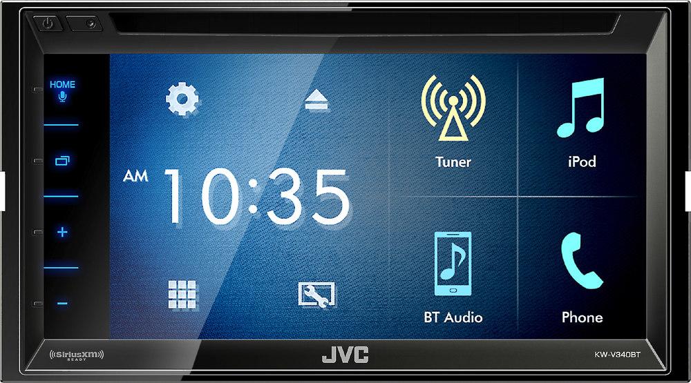 JVC KW-V240BT DVD receiver at Crutchfield.com