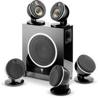 Focal Dome 51F Flax BK  5.1 channel speaker system w.SubAir