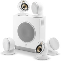 Focal Dome 51F Flax WH  5.1 channel speaker system w.SubAir
