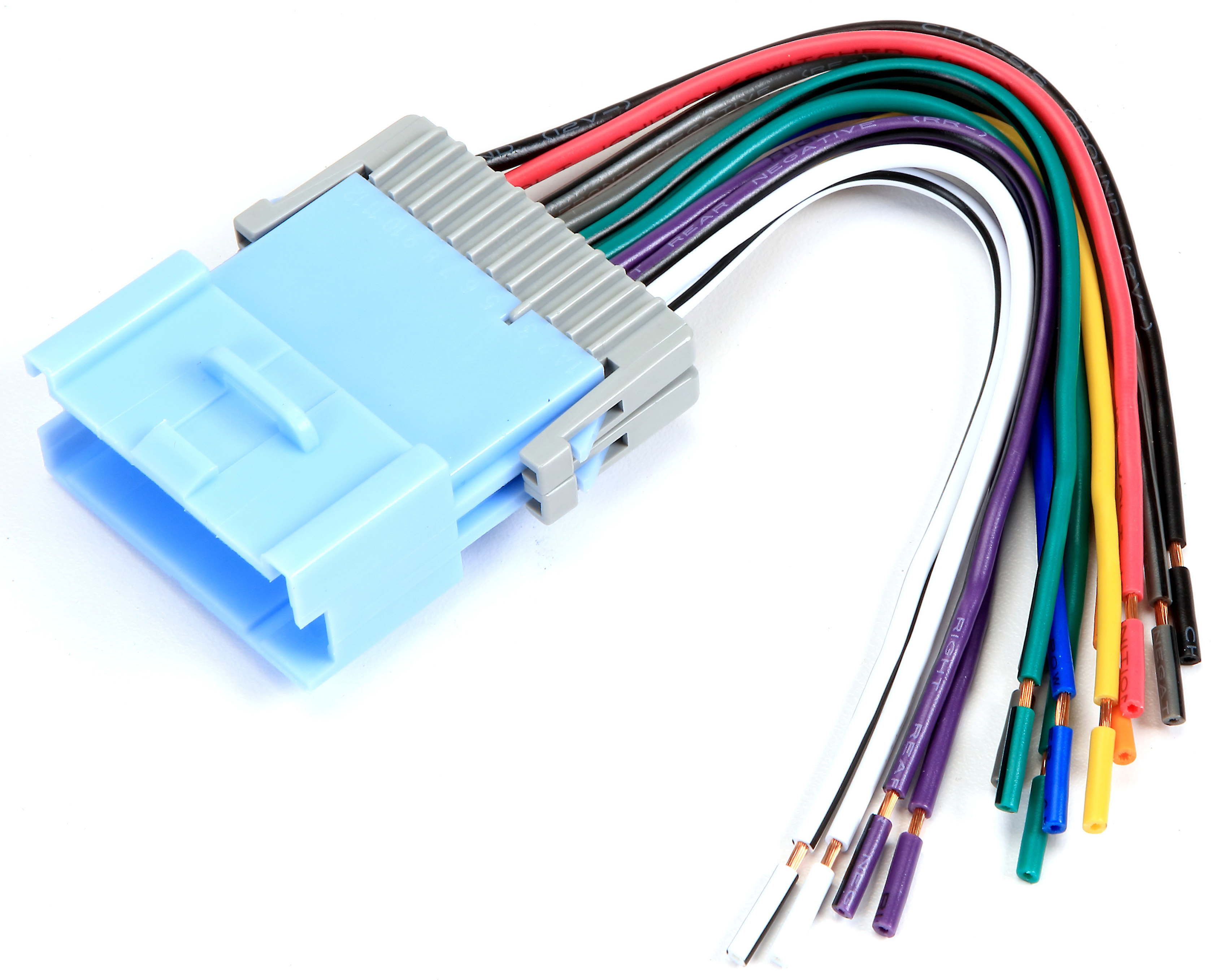 Metra 70-2102 Receiver Wiring Harness Connect a new car stereo in select  2004-05 Saturn vehicles at Crutchfield | Receiver Wiring Harness Saturn |  | Crutchfield