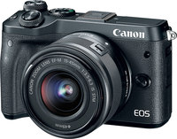 Canon EOS M6  with EF-M 15-45mm f/3.5-6.3 IS STM- Black
