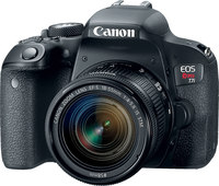 Canon EOS Rebel T7i with EF-S 18-55mm IS STM