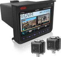 """NavAtlas DXP1000DVR  RZR 7"""" Command Center with 2-Camera DVR"""