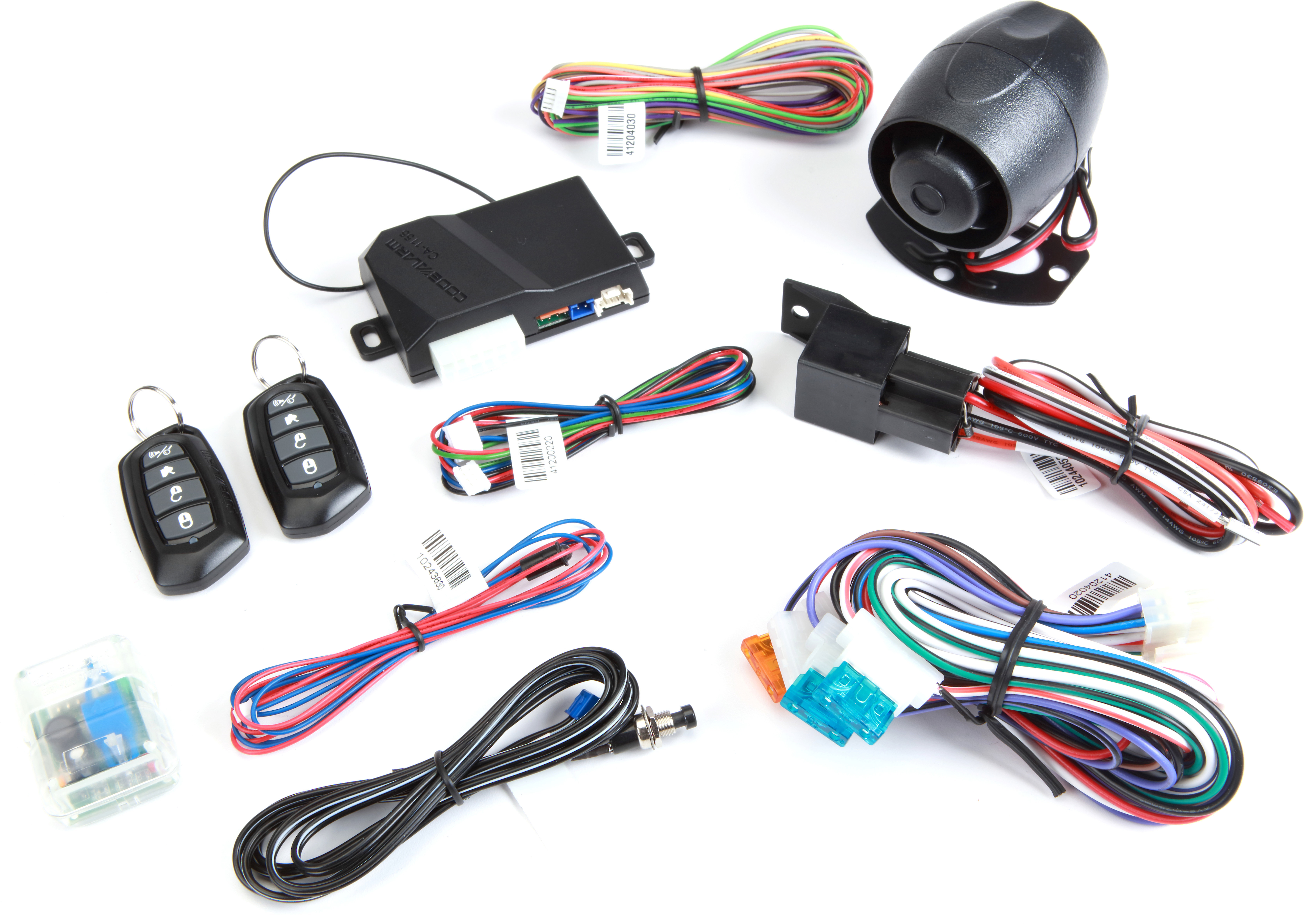 Code Alarm CA1155 Car security and keyless entry system with auxiliary  output at CrutchfieldCrutchfield
