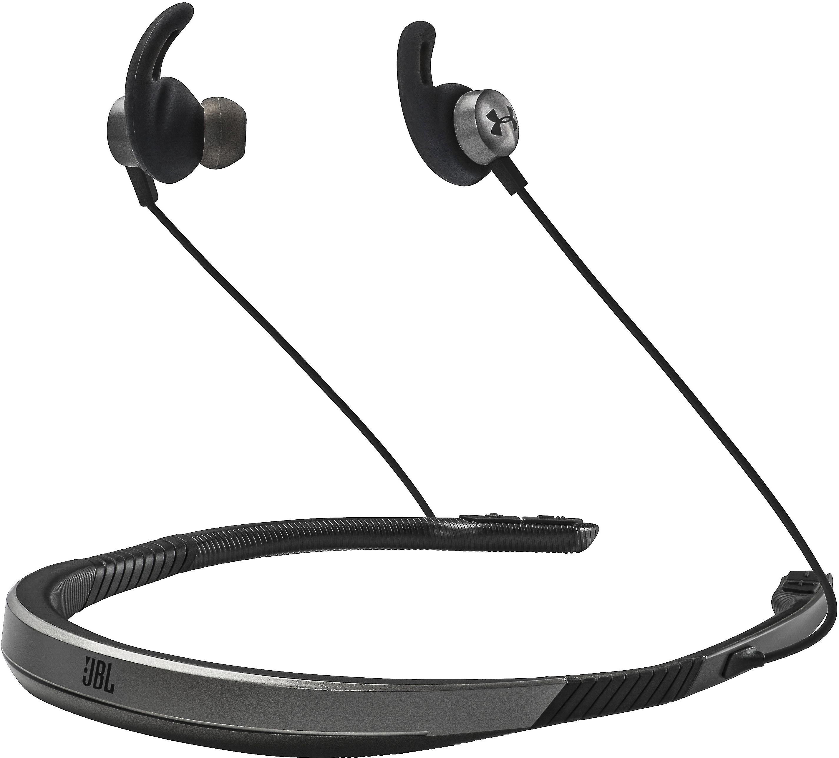 Under Armour Sport Wireless Flex Engineered By Jbl Bluetooth Neckband Sports Headphones At Crutchfield