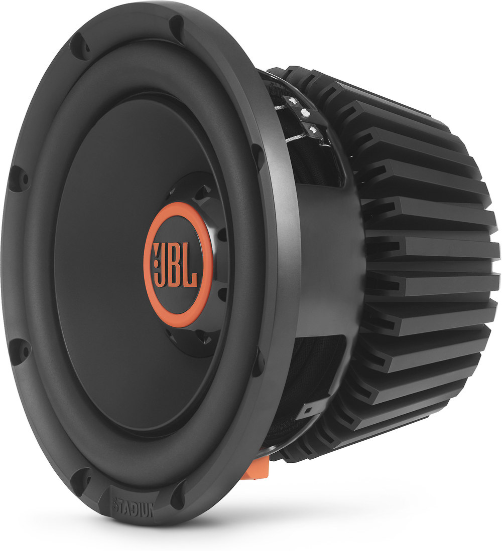 """JBL Stadium 1024 10"""" component subwoofer with switchable 2- or 4-ohm  impedance at Crutchfield.com"""