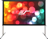 """Elite Screens OMS150H2-Dual Outdoor Projection Screen 150"""""""
