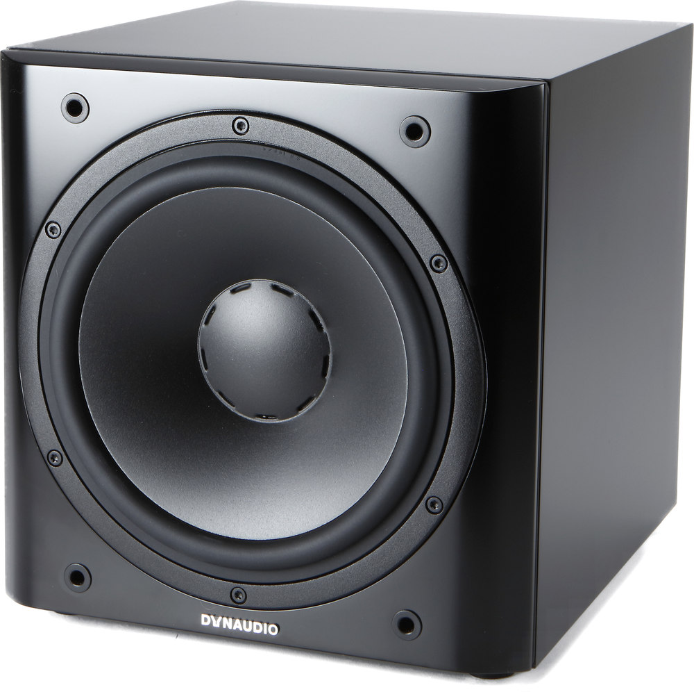 dynaudio sub 3 black satin powered subwoofer at. Black Bedroom Furniture Sets. Home Design Ideas