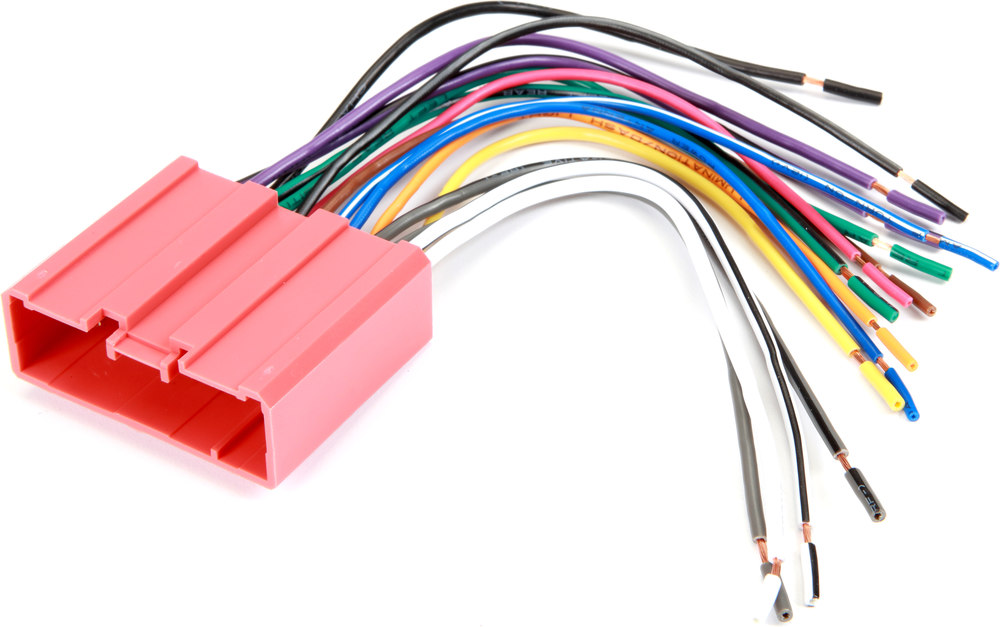 Metra 70-7903 Receiver Wiring Harness Connect a new car stereo in ...
