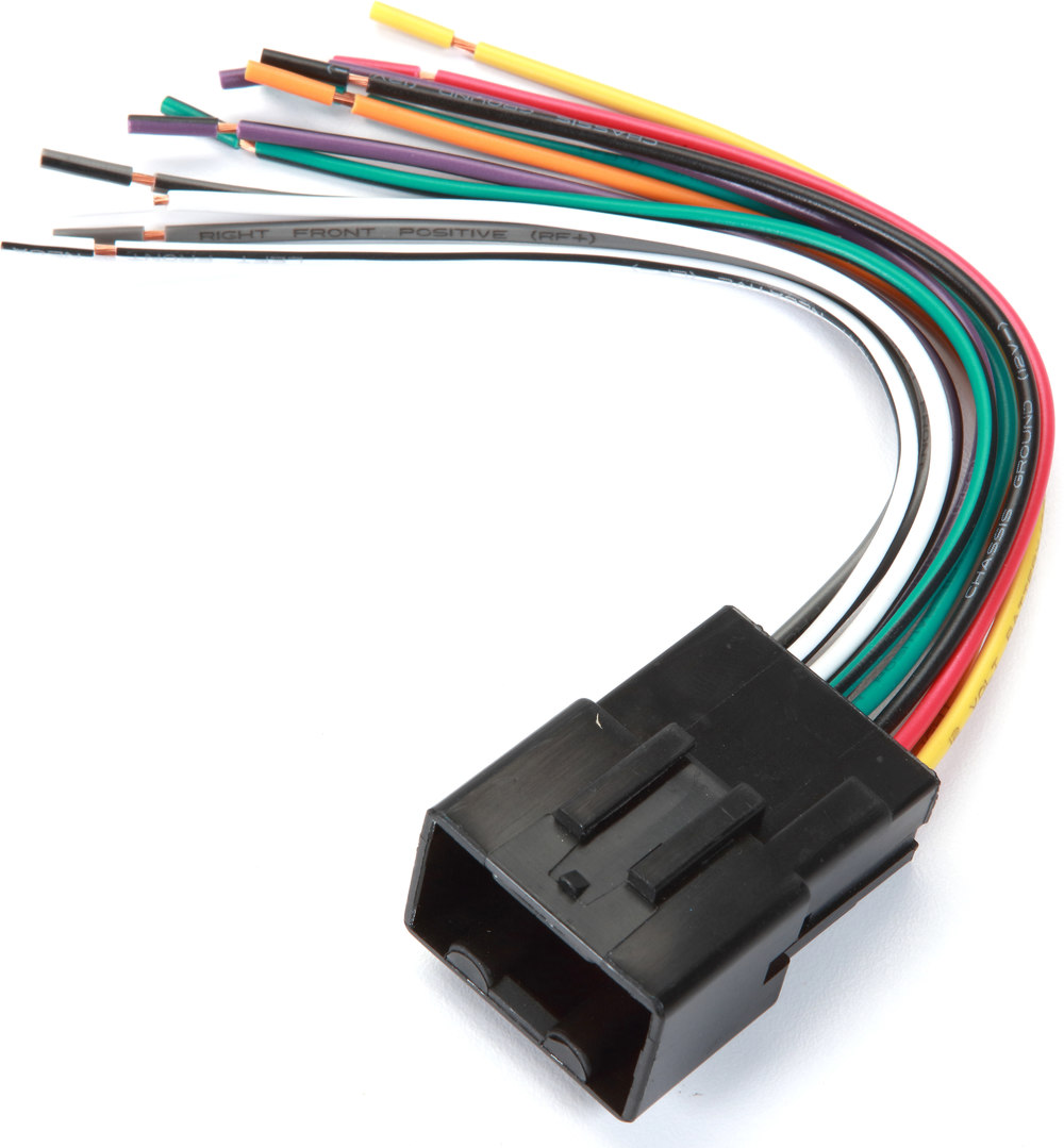 Metra 70 1771 Receiver Wiring Harness Connect A New Car Stereo In 2008 Ford Focus Electrical Color Codes Select 1998 2011 Lincoln Mercury And Mazda Vehicles At