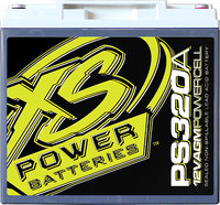 XS Power PS320A 12v Powersport  Battery, Max Amps 1,000A ...