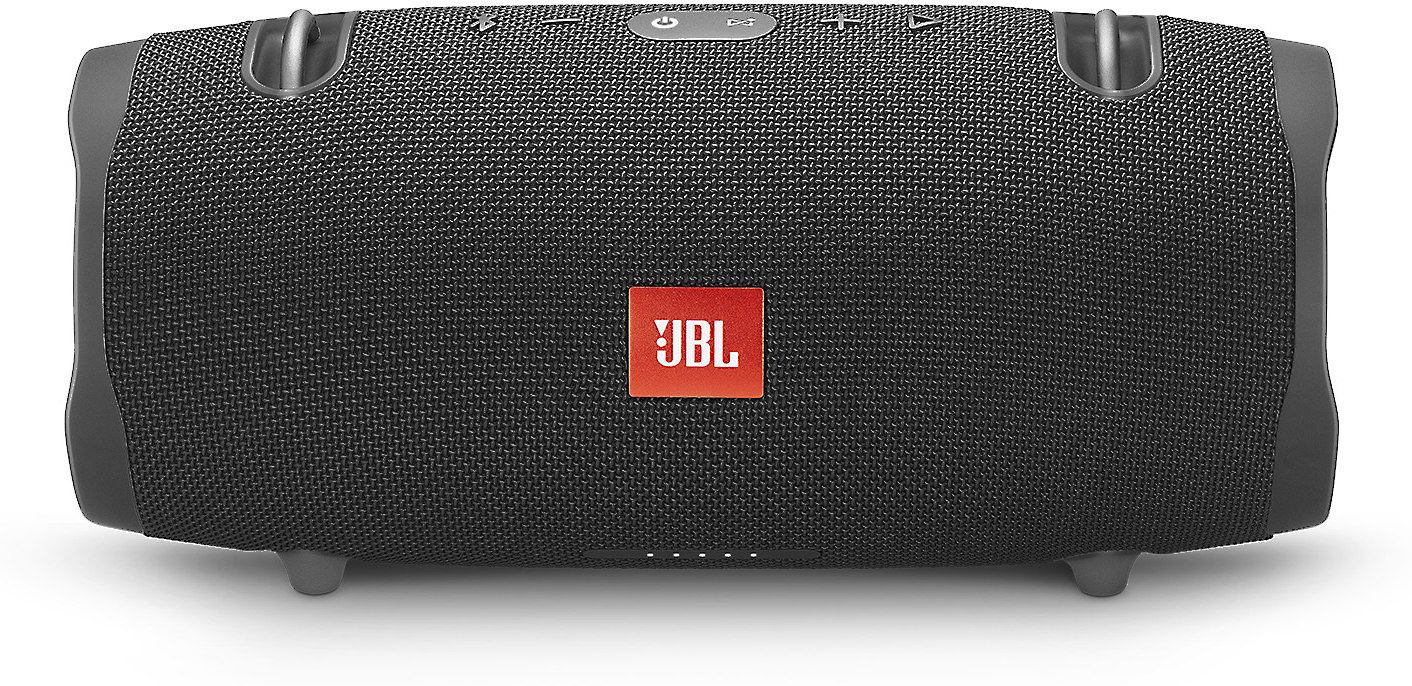 Black JBL XTREME Portable Bluetooth Wireless Waterproof Speaker