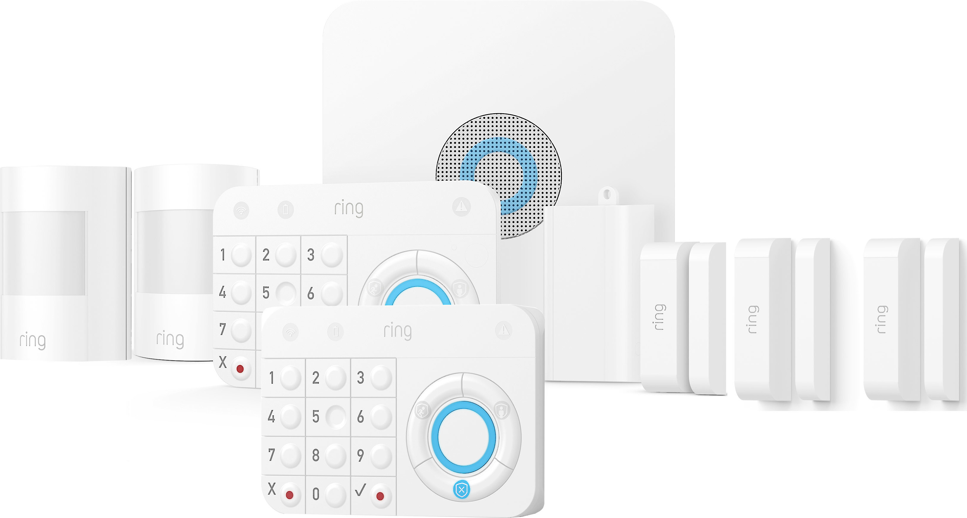 Ring Alarm Starter Home Security Kit Home security system with ...