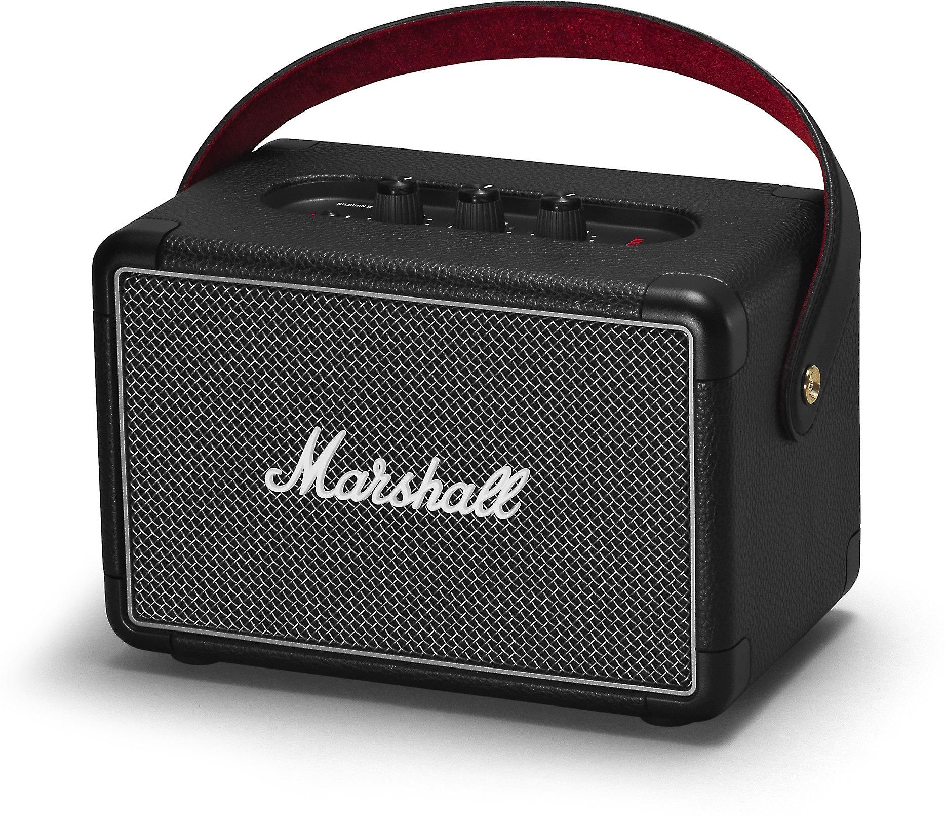 marshall kilburn ii  black  portable bluetooth u00ae speaker at