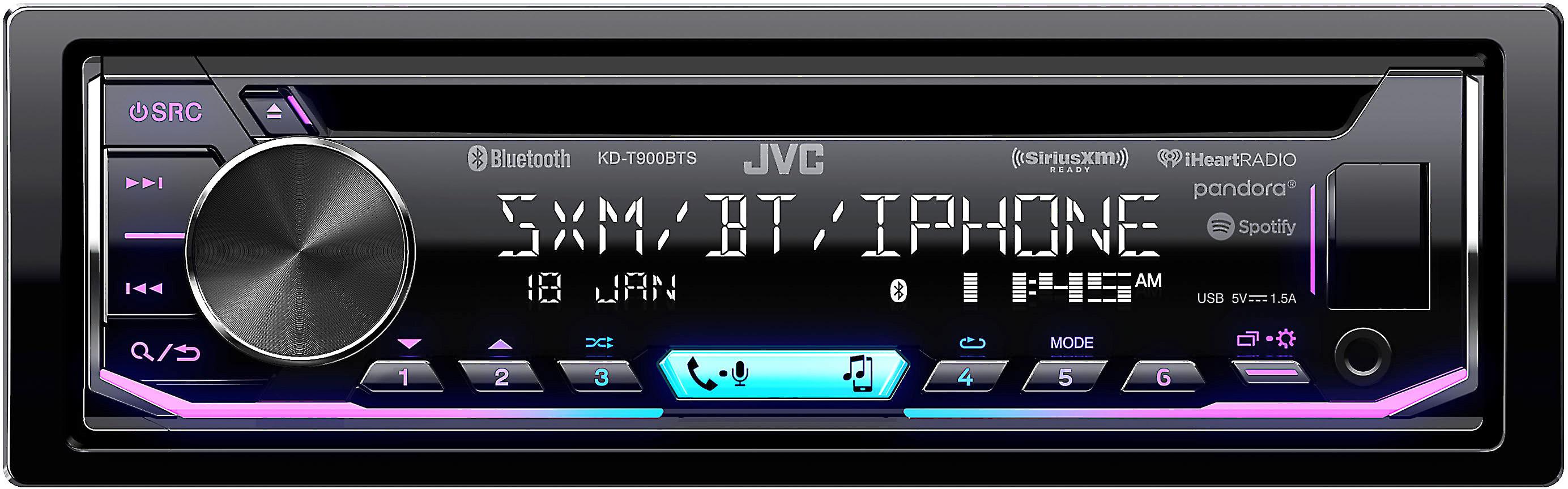 JVC KD-T900BTS