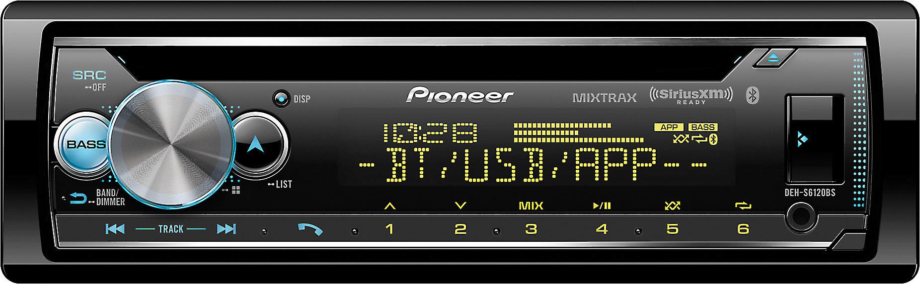 Pioneer DEH-S6120BS