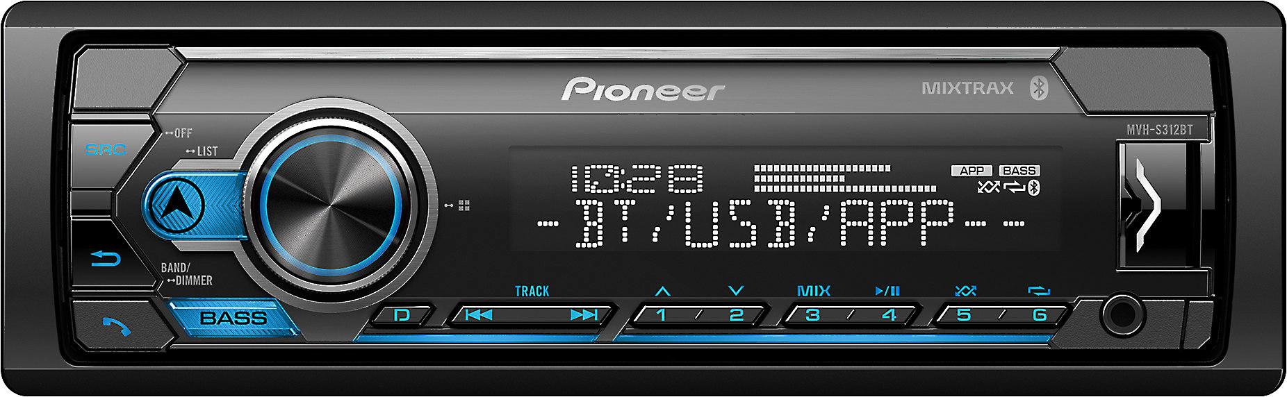Pioneer MVH-S312BT Digital Media Receiver