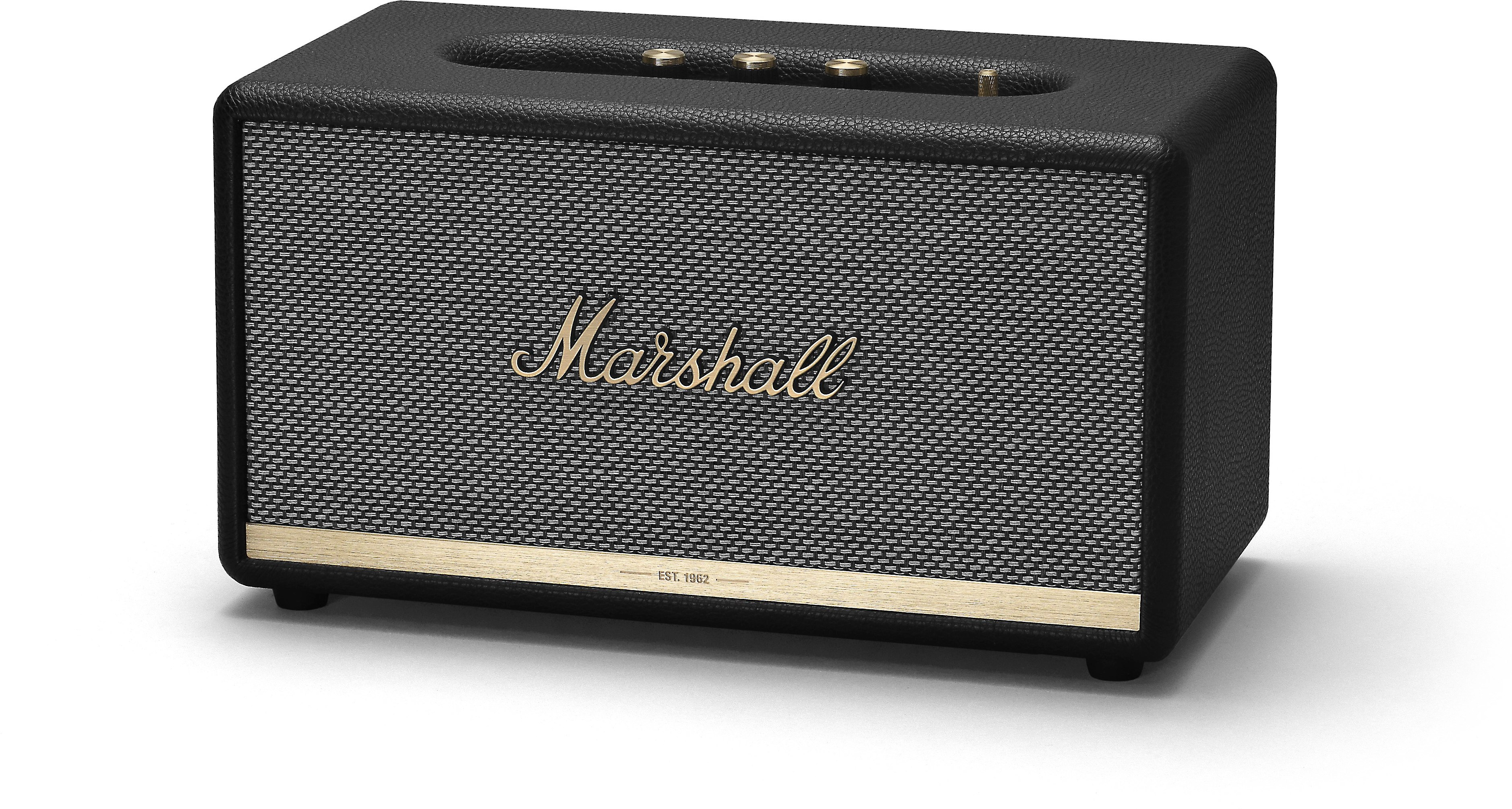 Marshall Stanmore Ii Bluetooth Black Powered Bluetooth Speaker At Crutchfield