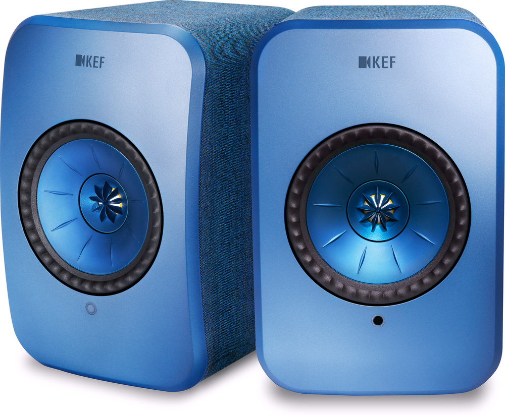 KEF LSX (Blue) Powered speakers with Wi-Fi® and Bluetooth® at  Crutchfield.com 8c5c3a3e6fc42