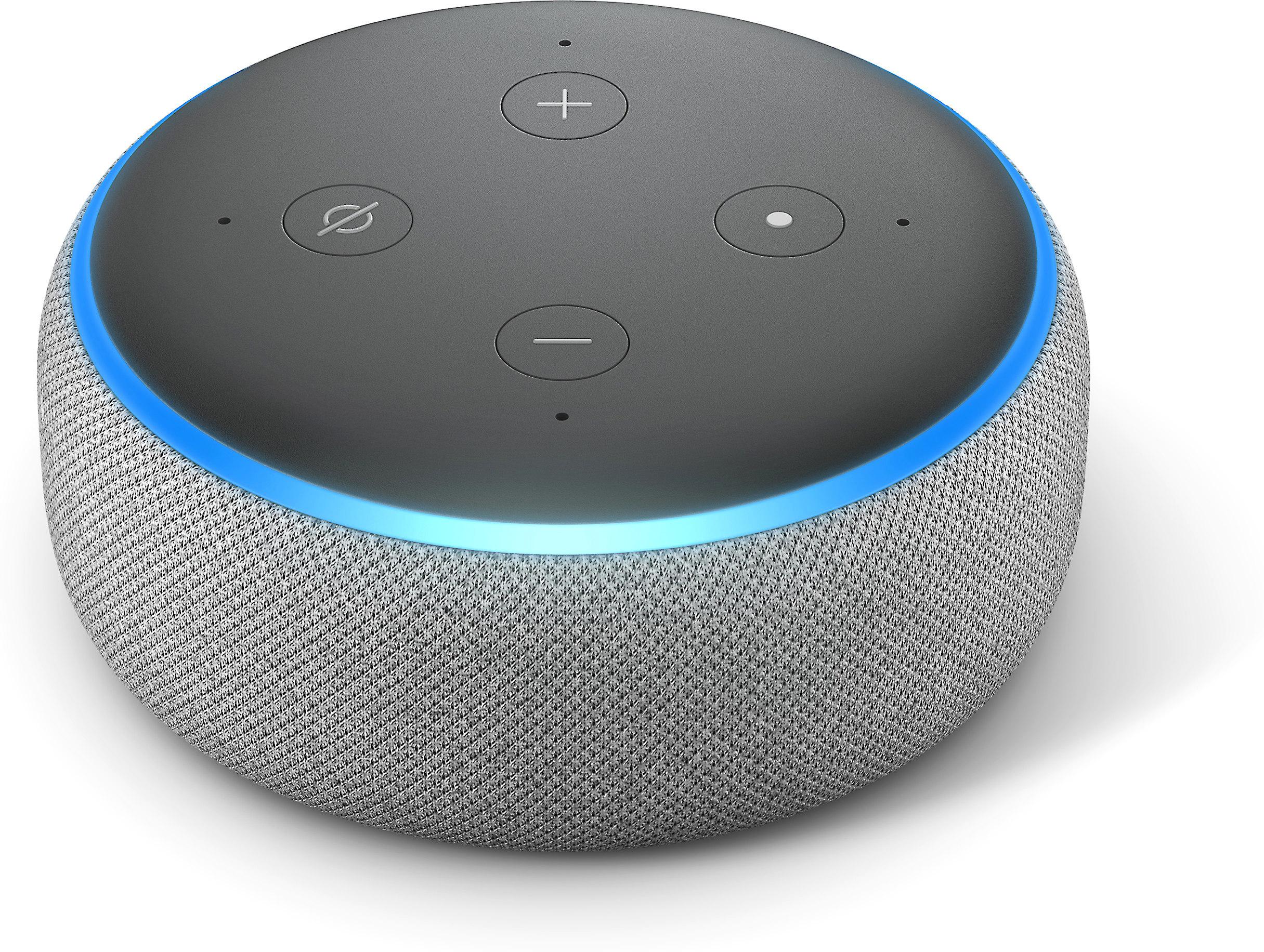Customer Reviews Amazon Echo Dot 3rd Generation Gray At