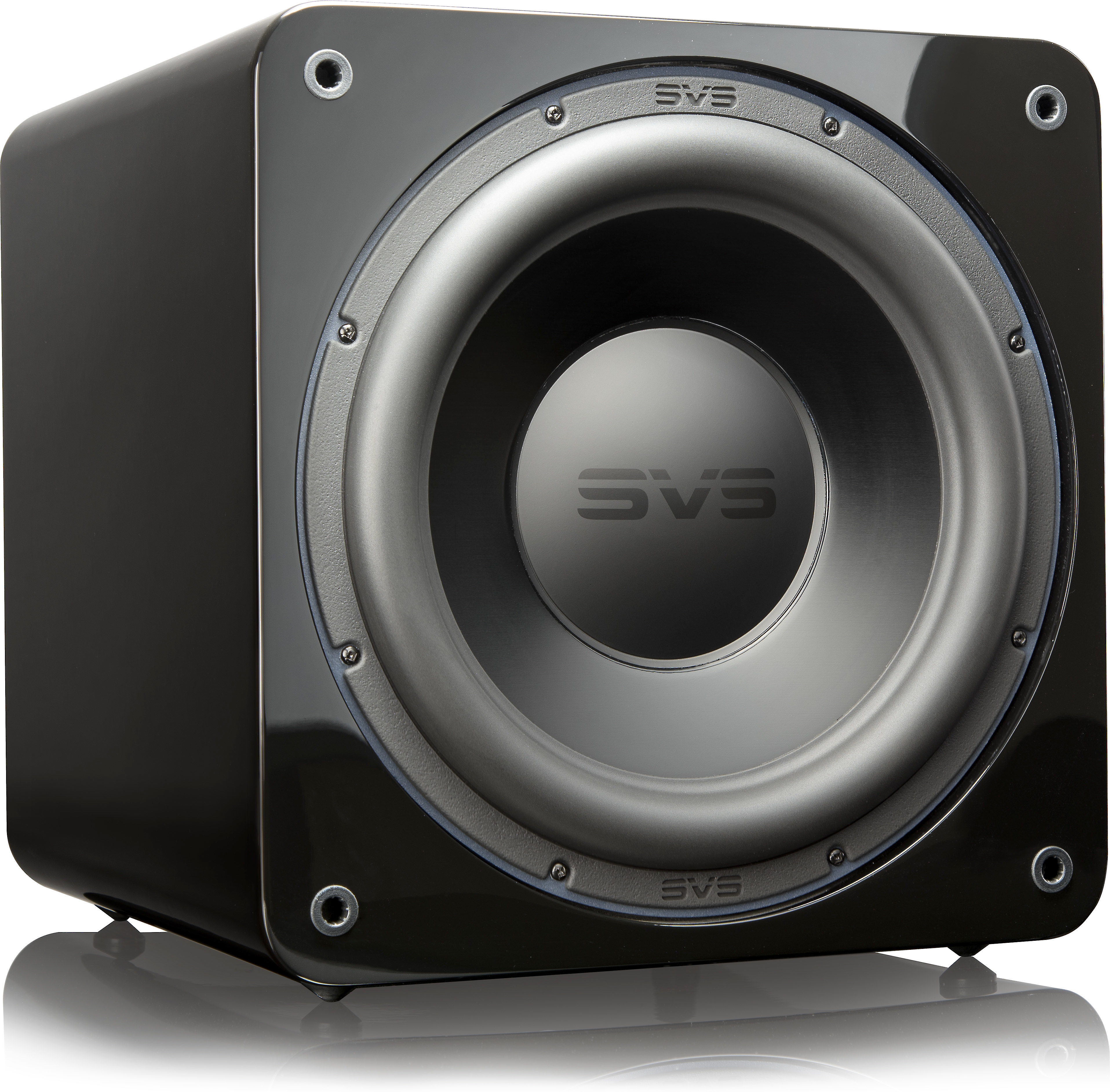 Svs Sb 3000 Piano Gloss Black Powered Subwoofer With App Control
