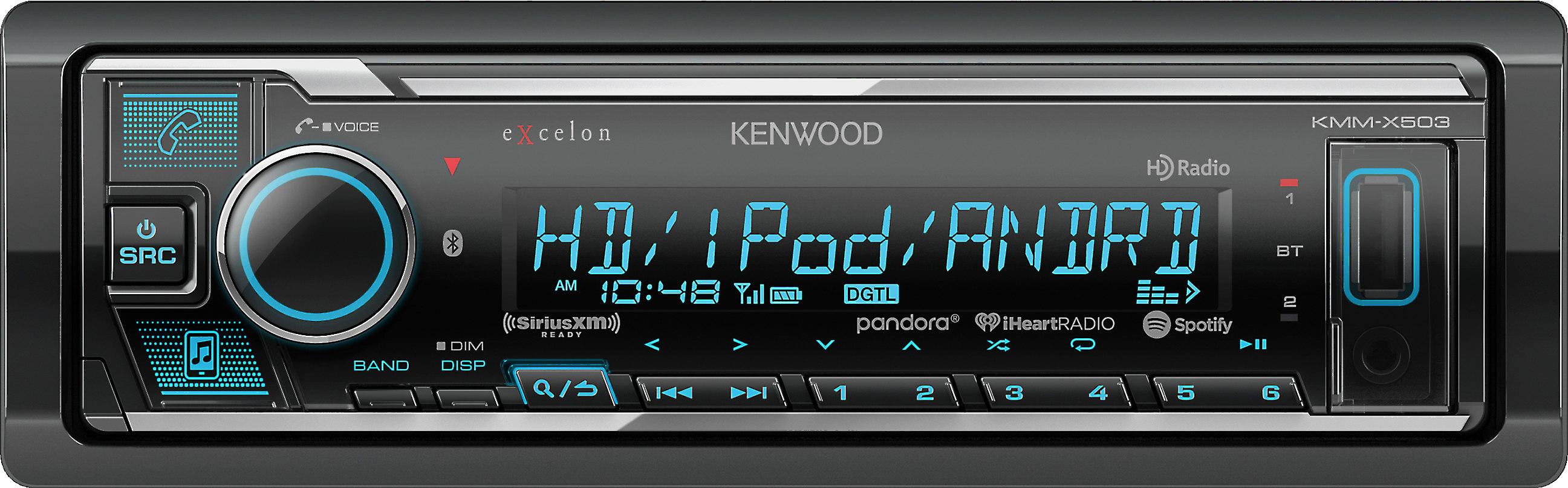 Kenwood Excelon KMM-X503