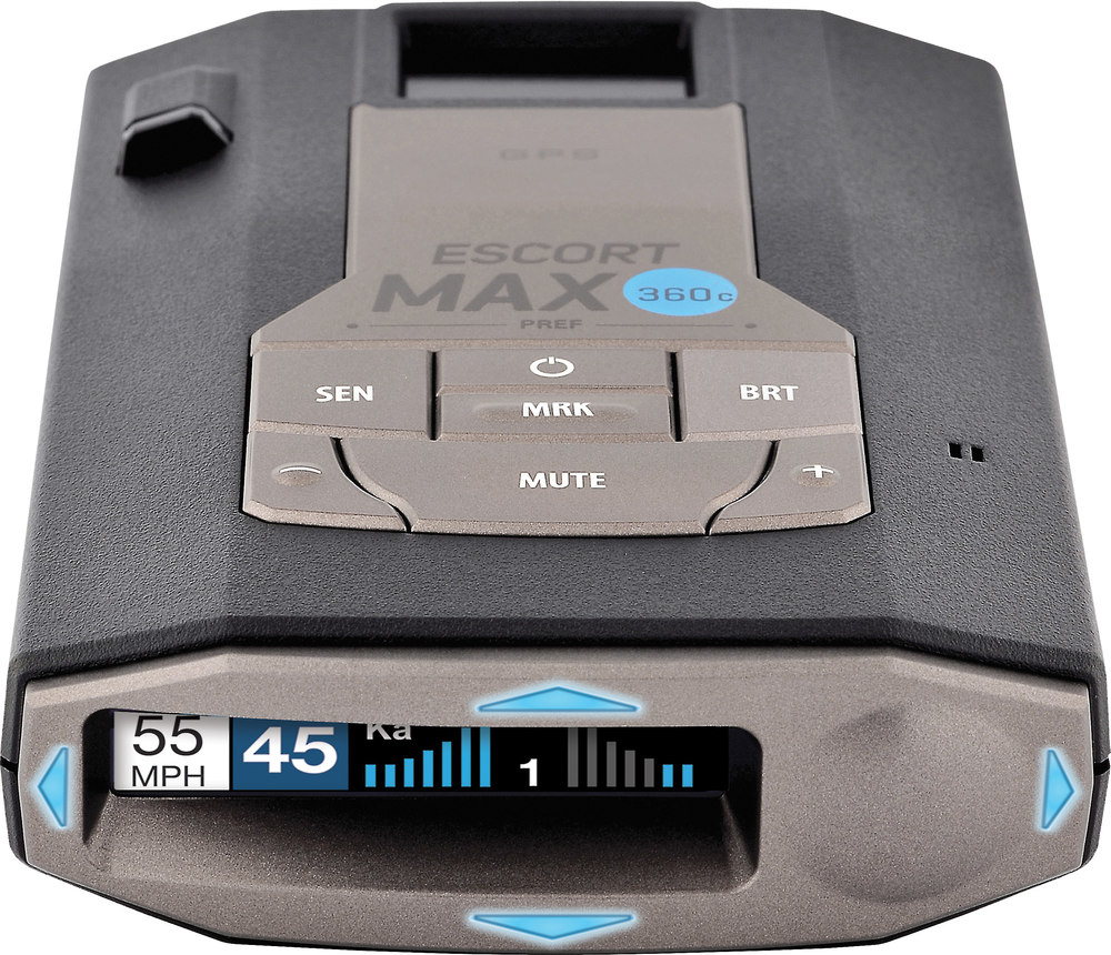 Escort Max 360c Radar Detector With Wi Fi Bluetooth Gps And Rj11 Wiring Color Code Diagram Preloaded Camera Database At