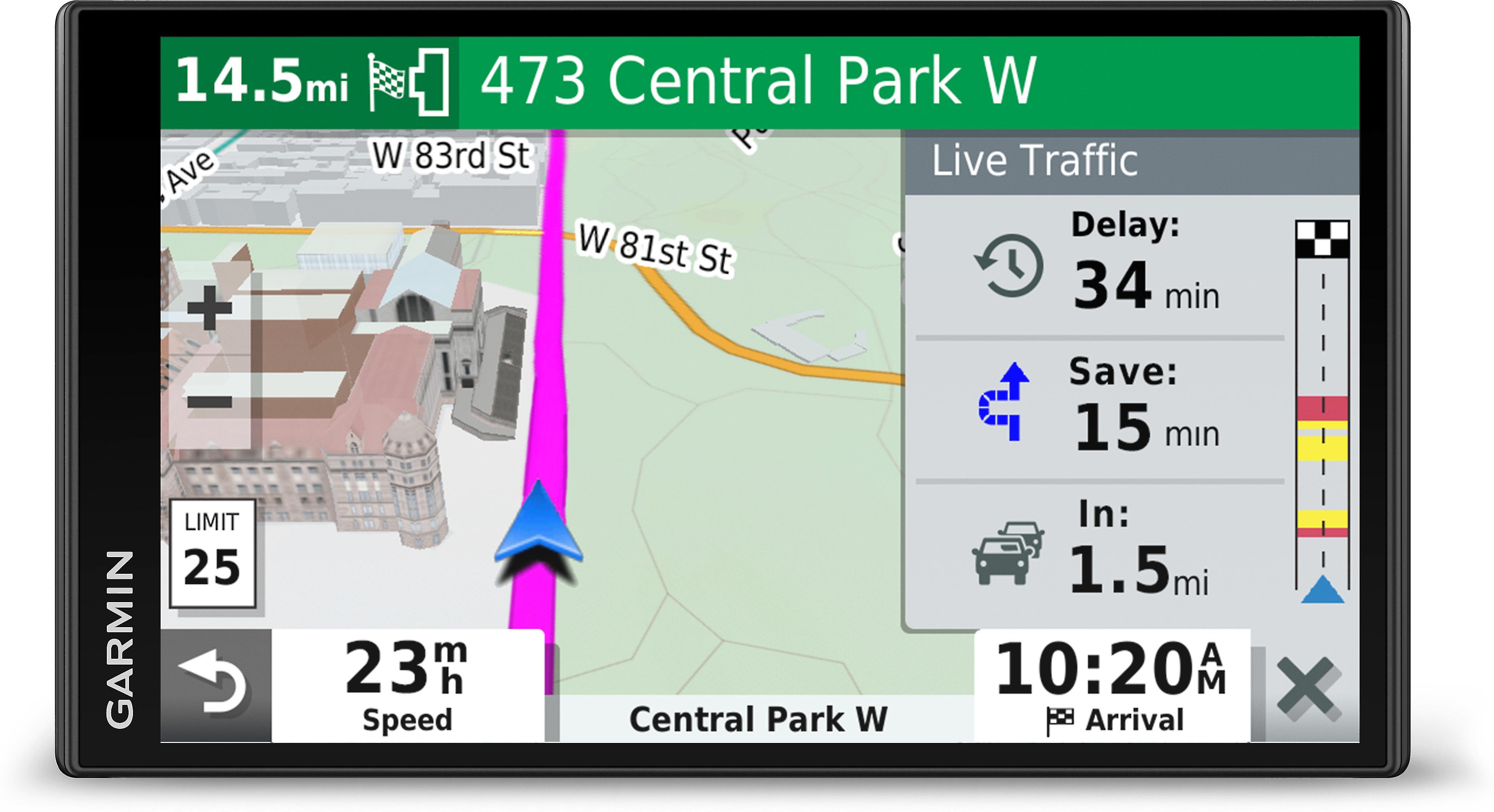 Garmin DriveSmart™ 65 & Traffic Portable navigator with 6.95 ... on