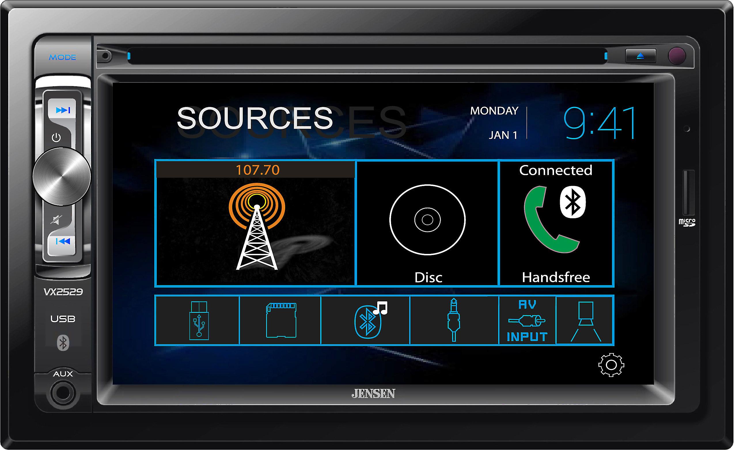 Jensen Car Stereo Wiring Harness