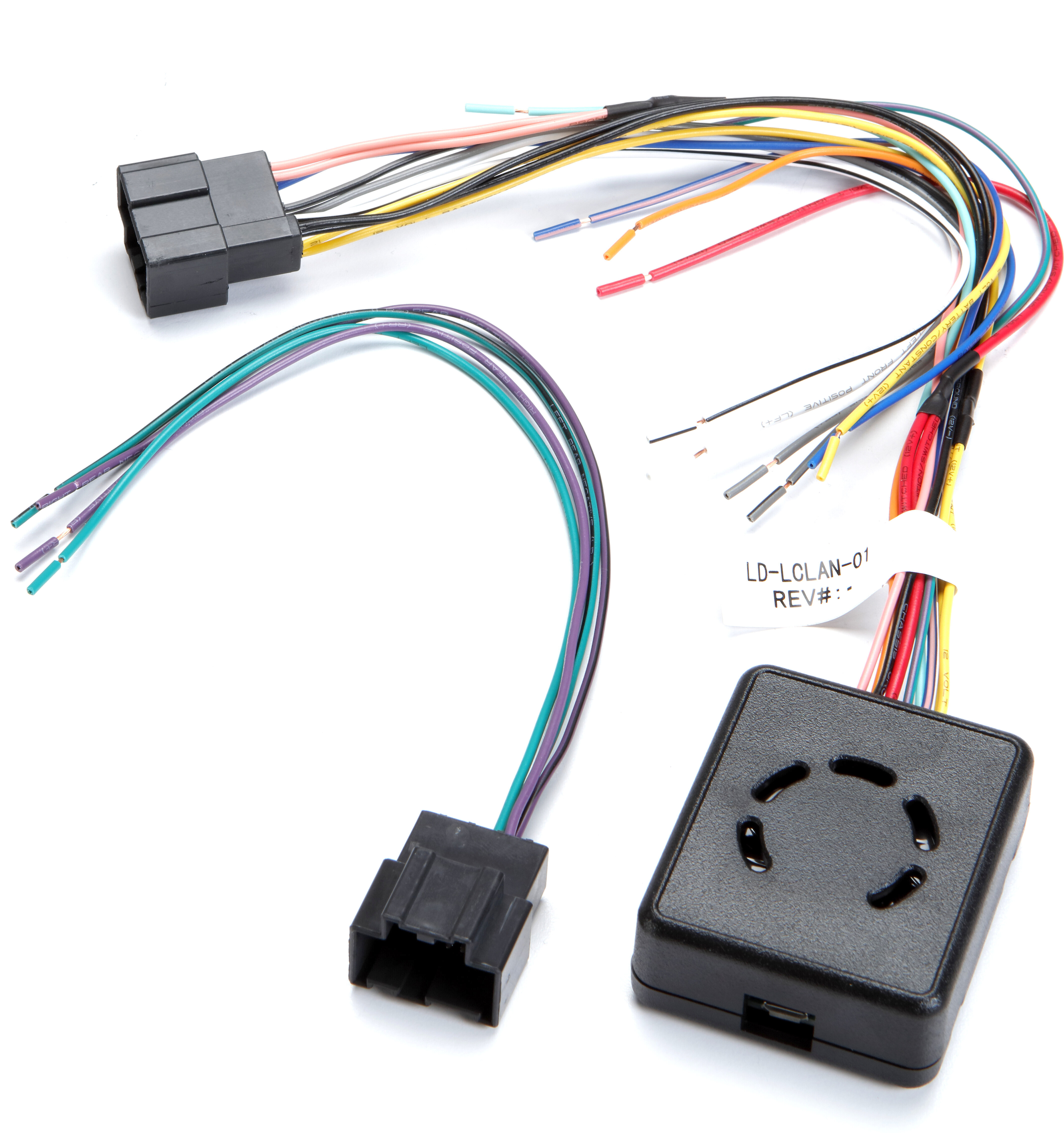 metra lc-gmrc-lan-01 wiring interface connect a new car stereo and retain  factory door chimes and audible safety warnings in select 2006-12 gm  vehicles at