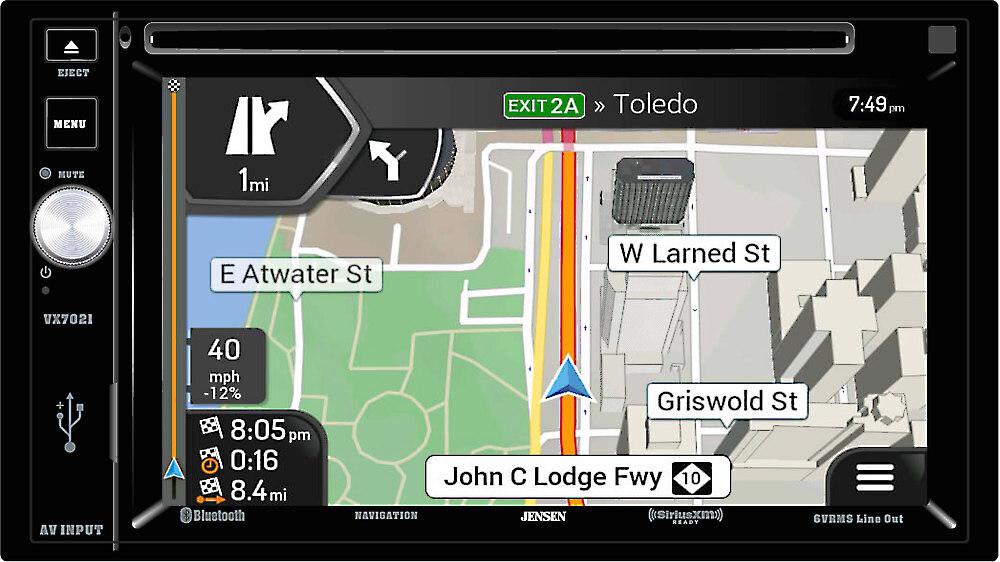 Double-DIN Navigation - Crutchfield