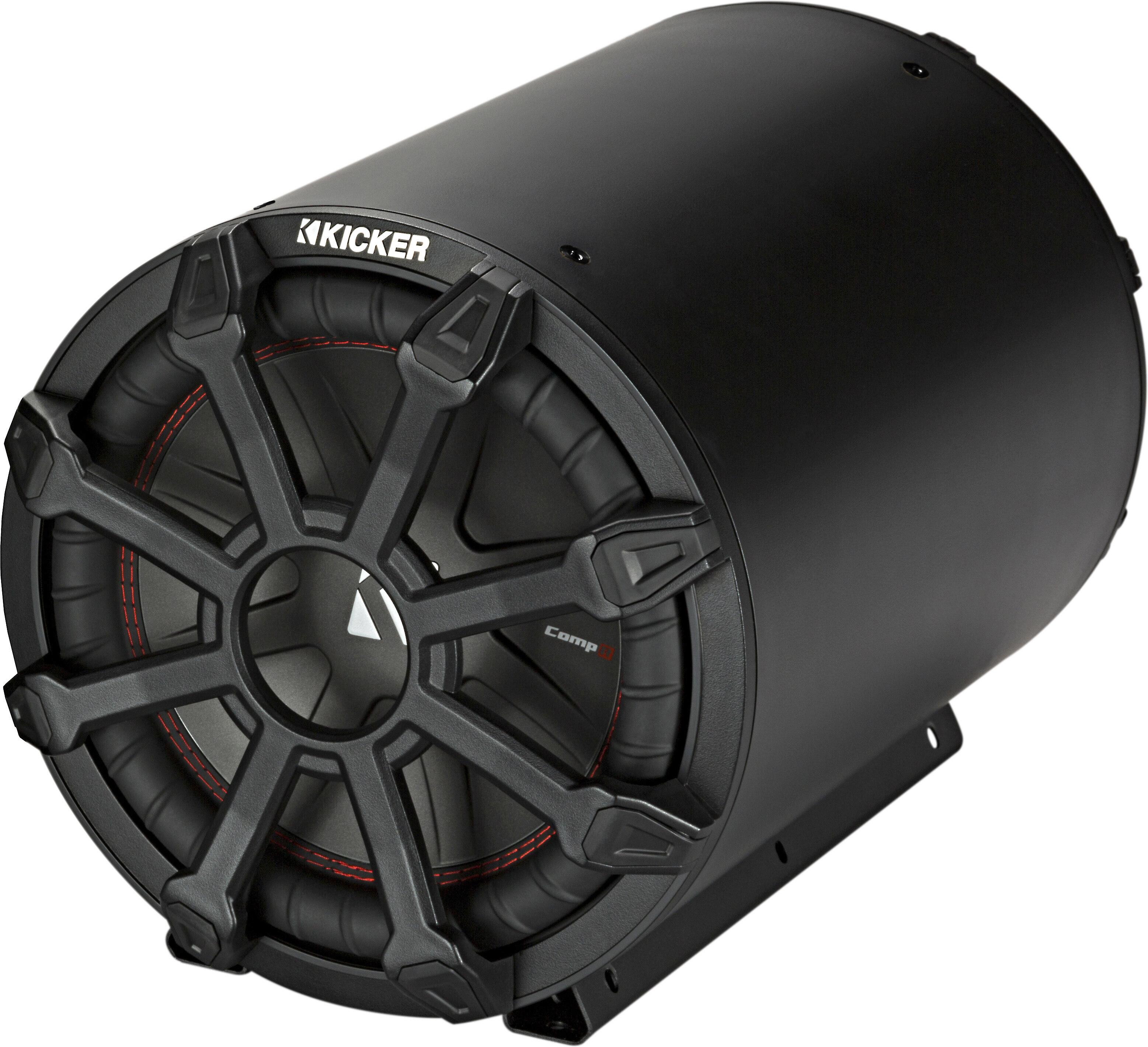"NEW 8/"" Subwoofer Bass Speaker.Tube Enclosure Cabinet.Car Boat Truck Audio Sound."