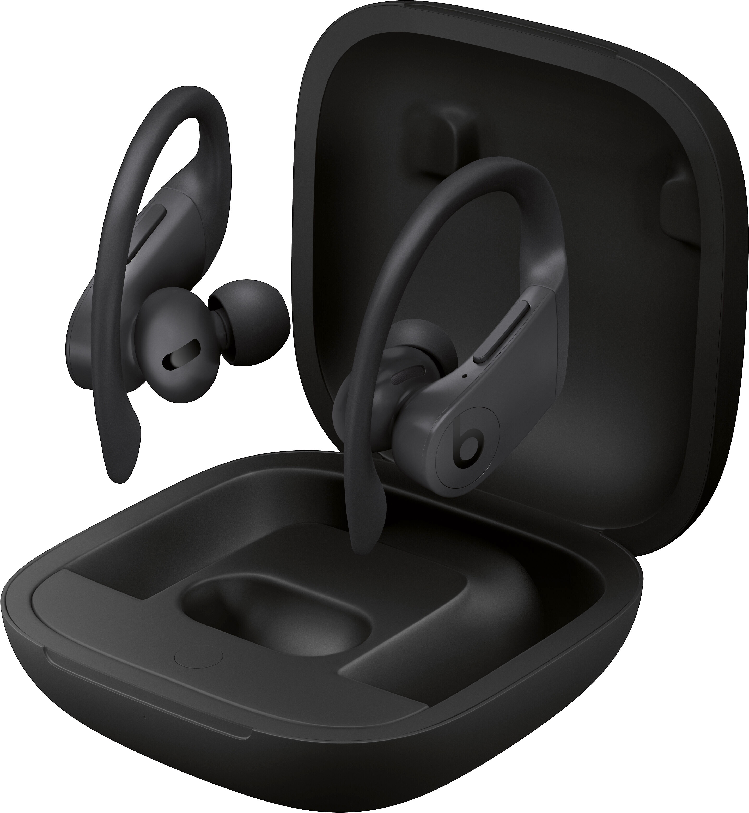 Beats By Dr Dre Powerbeats Pro Black Totally Wireless Sports Earbuds With Apple H1 Chip At Crutchfield