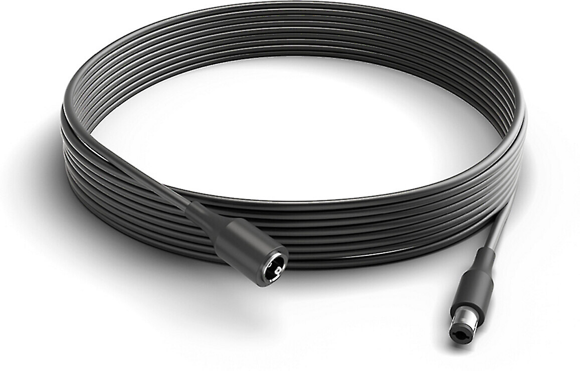 Black Philips Hue Play Extension Cable