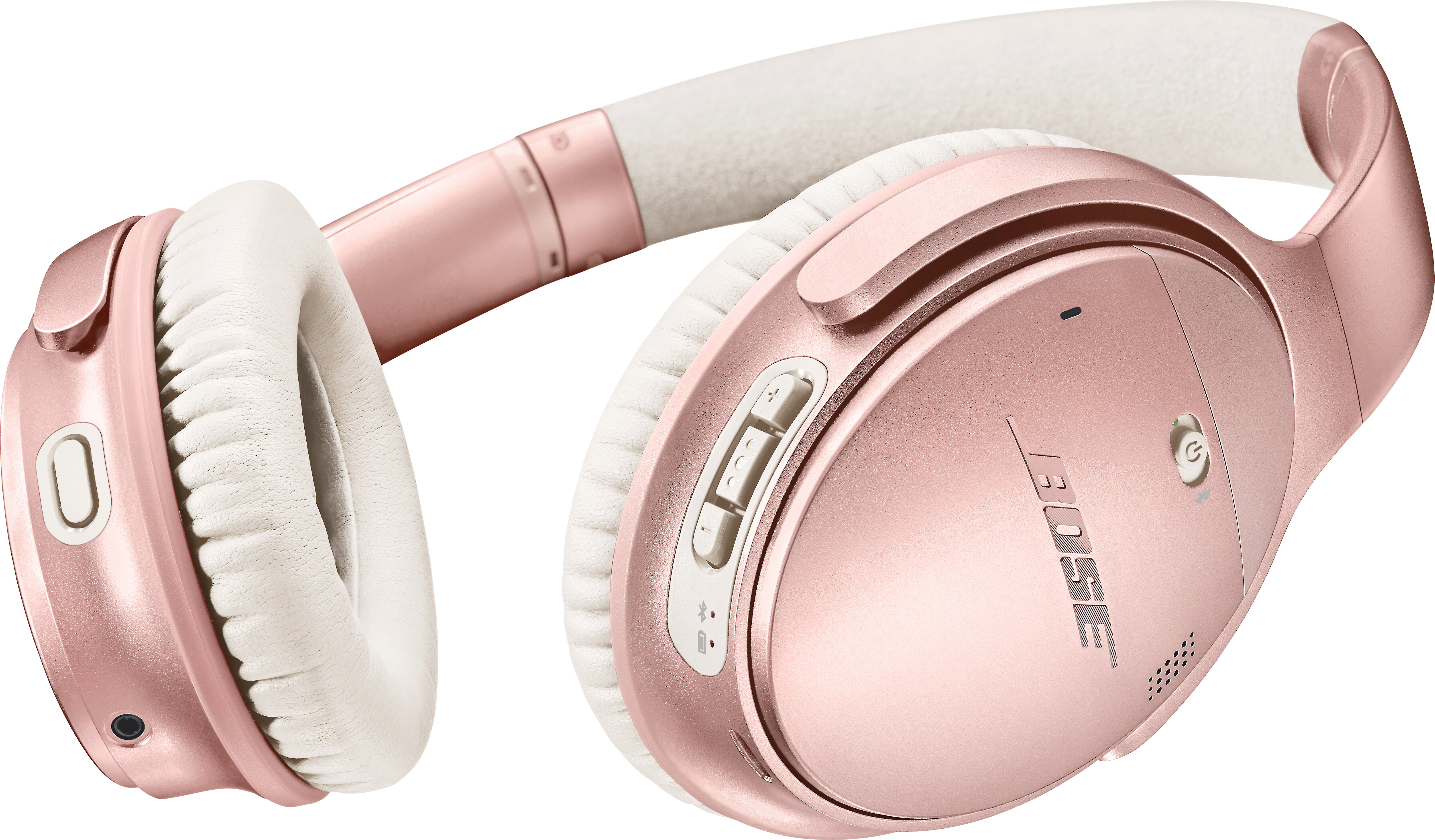 Bose Quietcomfort 35 Wireless Headphones Ii Limited Edition Rose Gold At Crutchfield