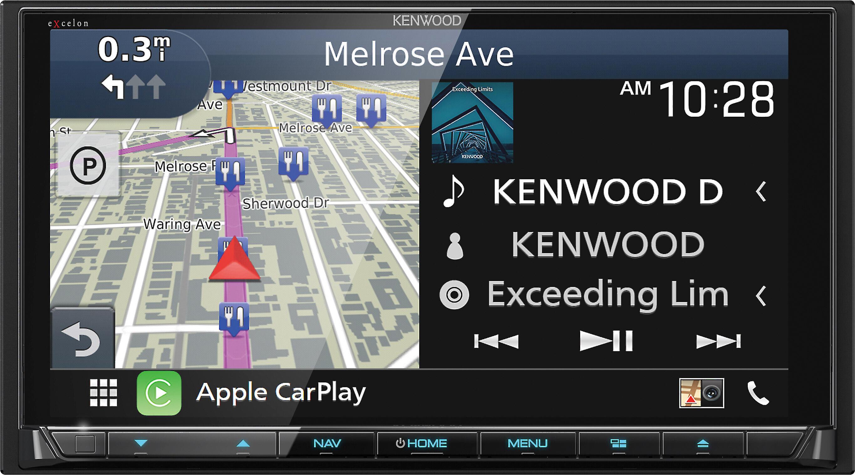 Kenwood Excelon Dnx996xr Navigation Receiver At Crutchfield