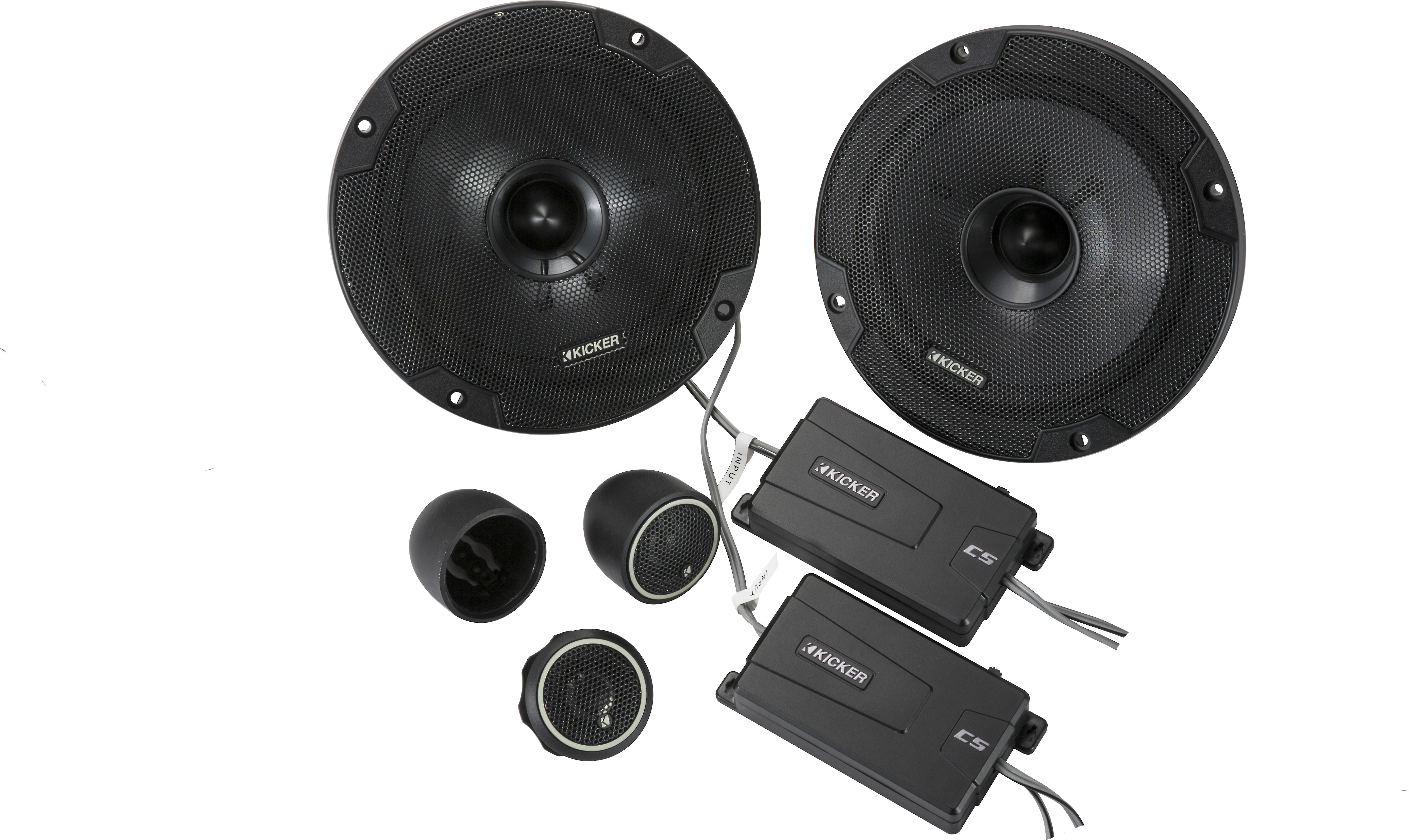 RECOIL REM65 Echo Series 6.5-Inch Car Audio Component Speaker System