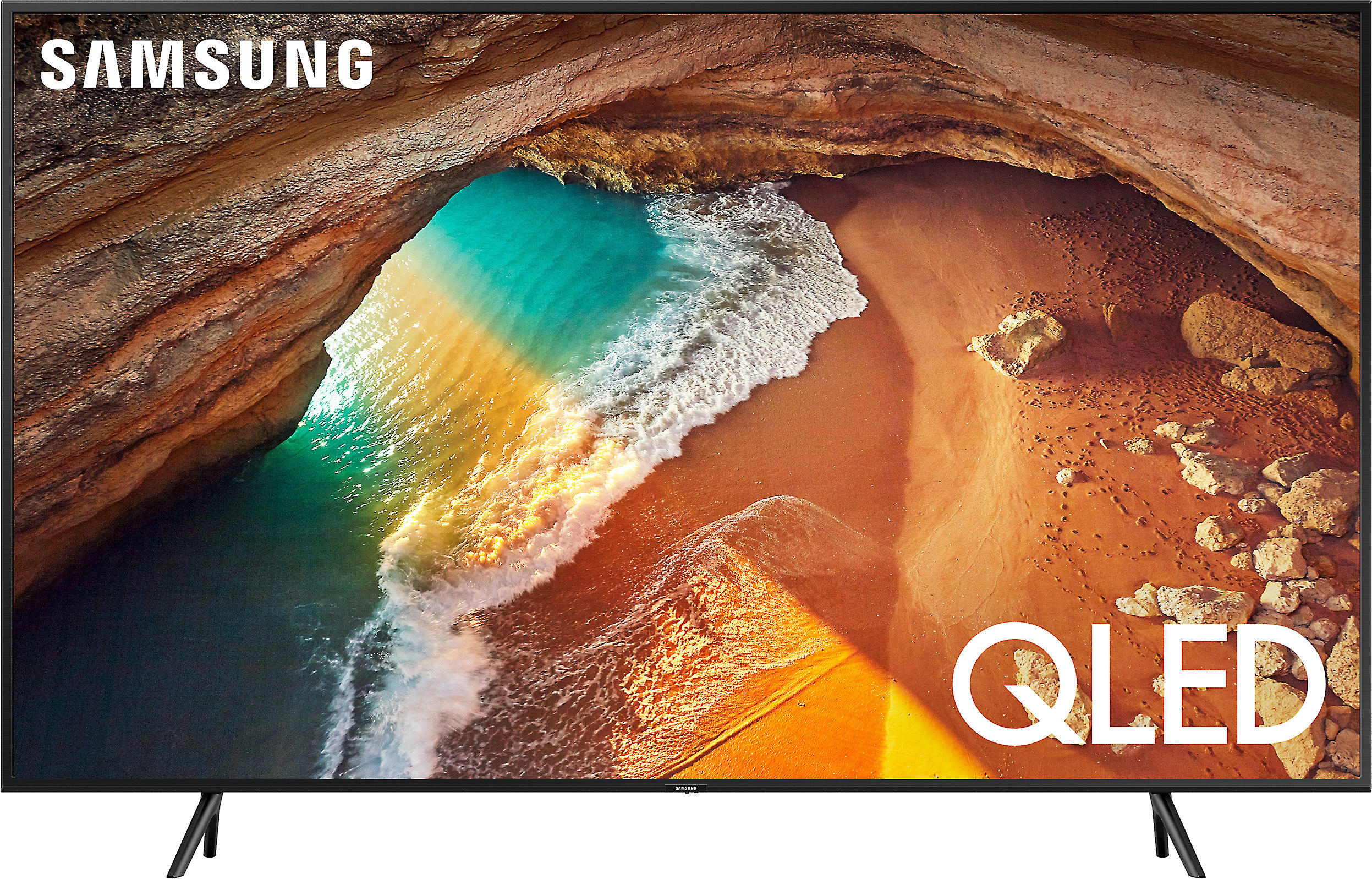 """Samsung QLED QN65Q9FN 65/"""" LED Ultra HD 4K Smart TV with HDR and Bundle"""