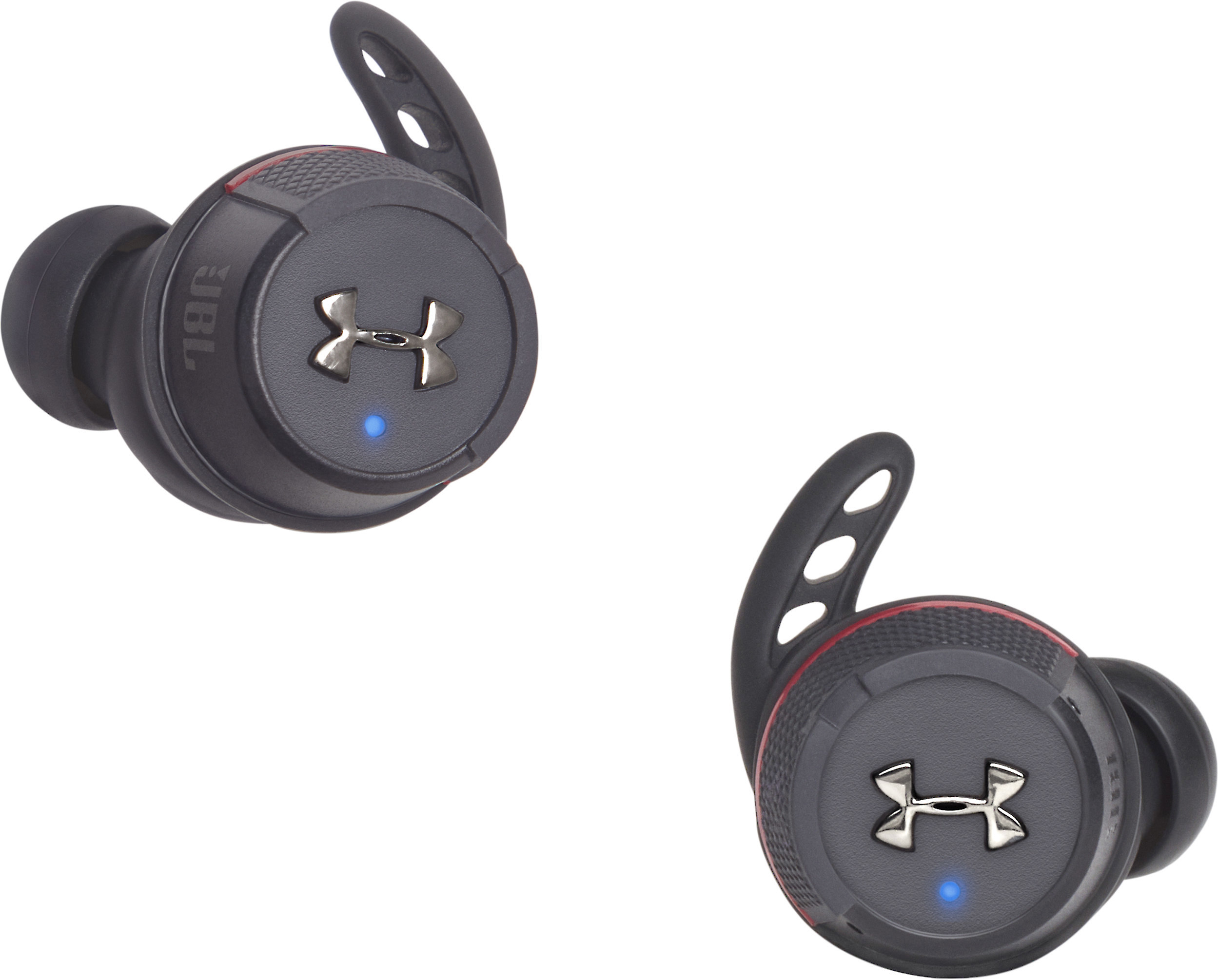 Under Armour True Wireless Flash Engineered By Jbl True Wireless Sports Earbuds With Bluetooth At Crutchfield