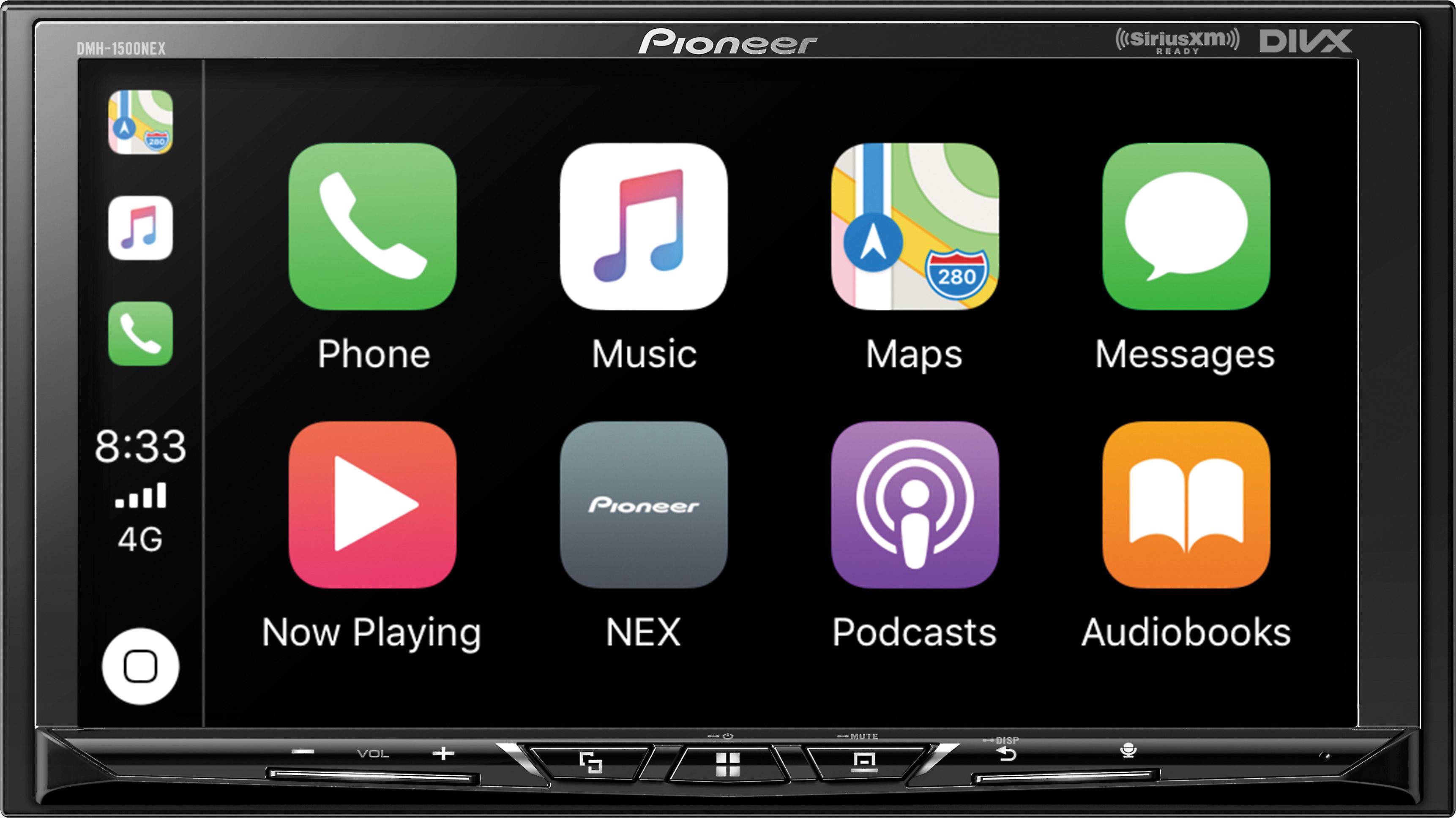 Pioneer Dmh 1500nex Digital Multimedia Receiver Does Not Play Cds At Crutchfield