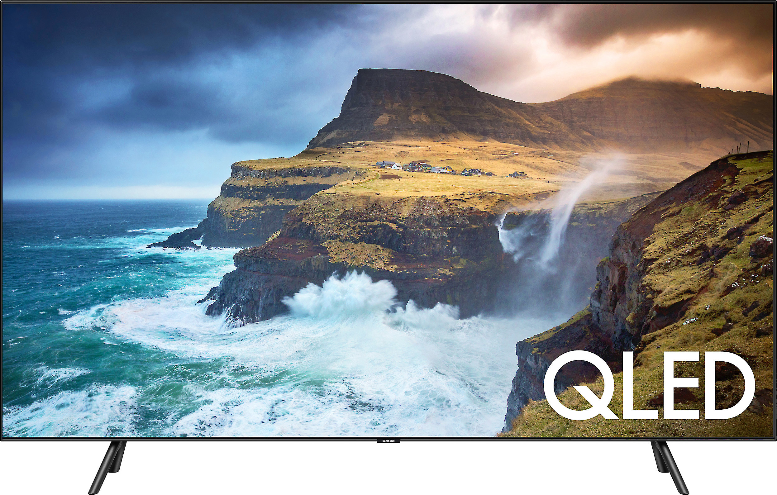 "Samsung QN65Q70R 65"" Q70R Smart QLED 4K UHD TV with HDR (2019) at ..."