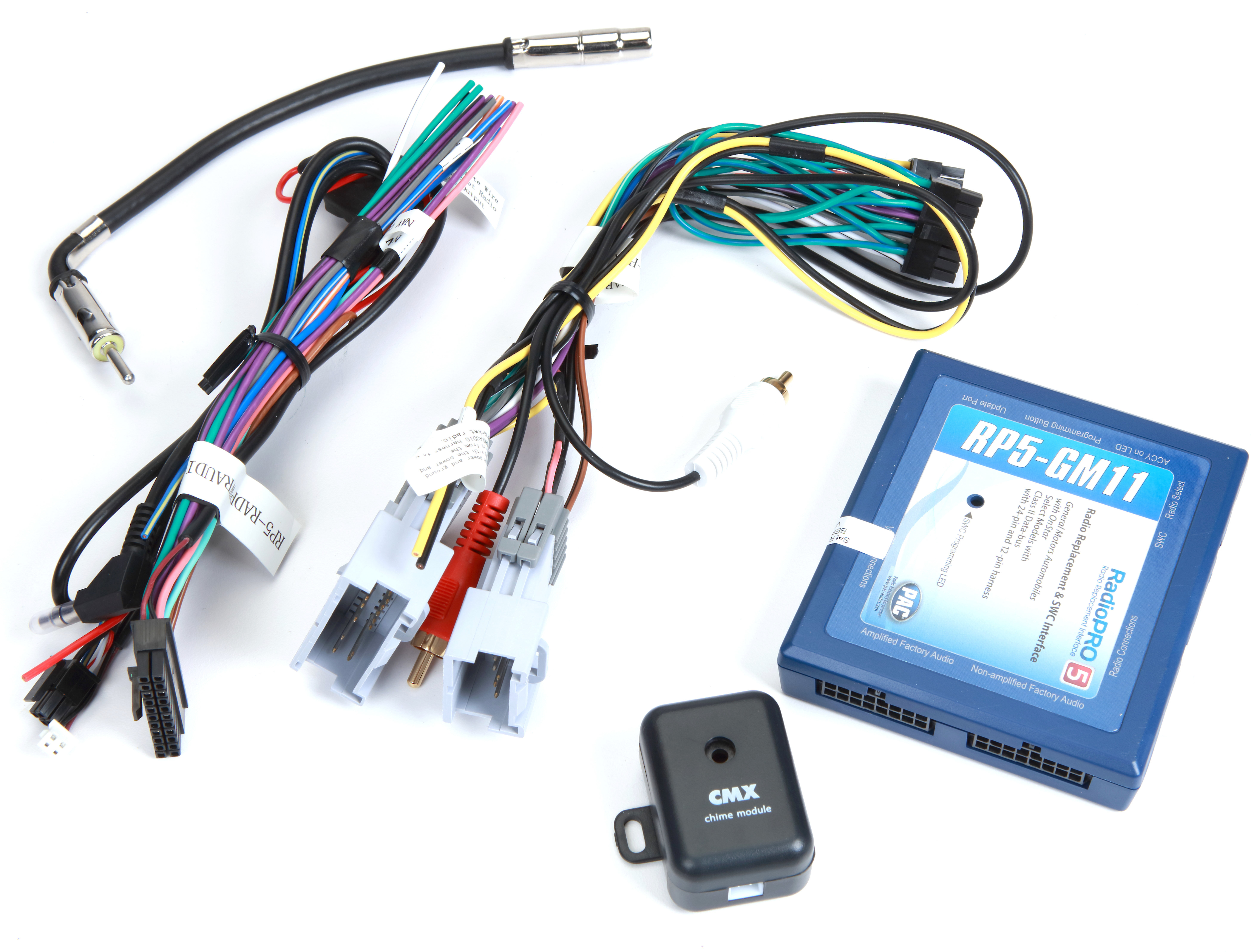 PAC RP5-GM11 Wiring Interface Connect a new car stereo and retain